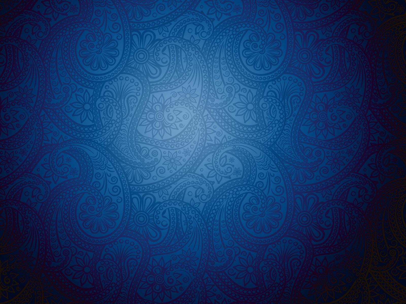 bleu motif floral murconception de lart abstrait fond d