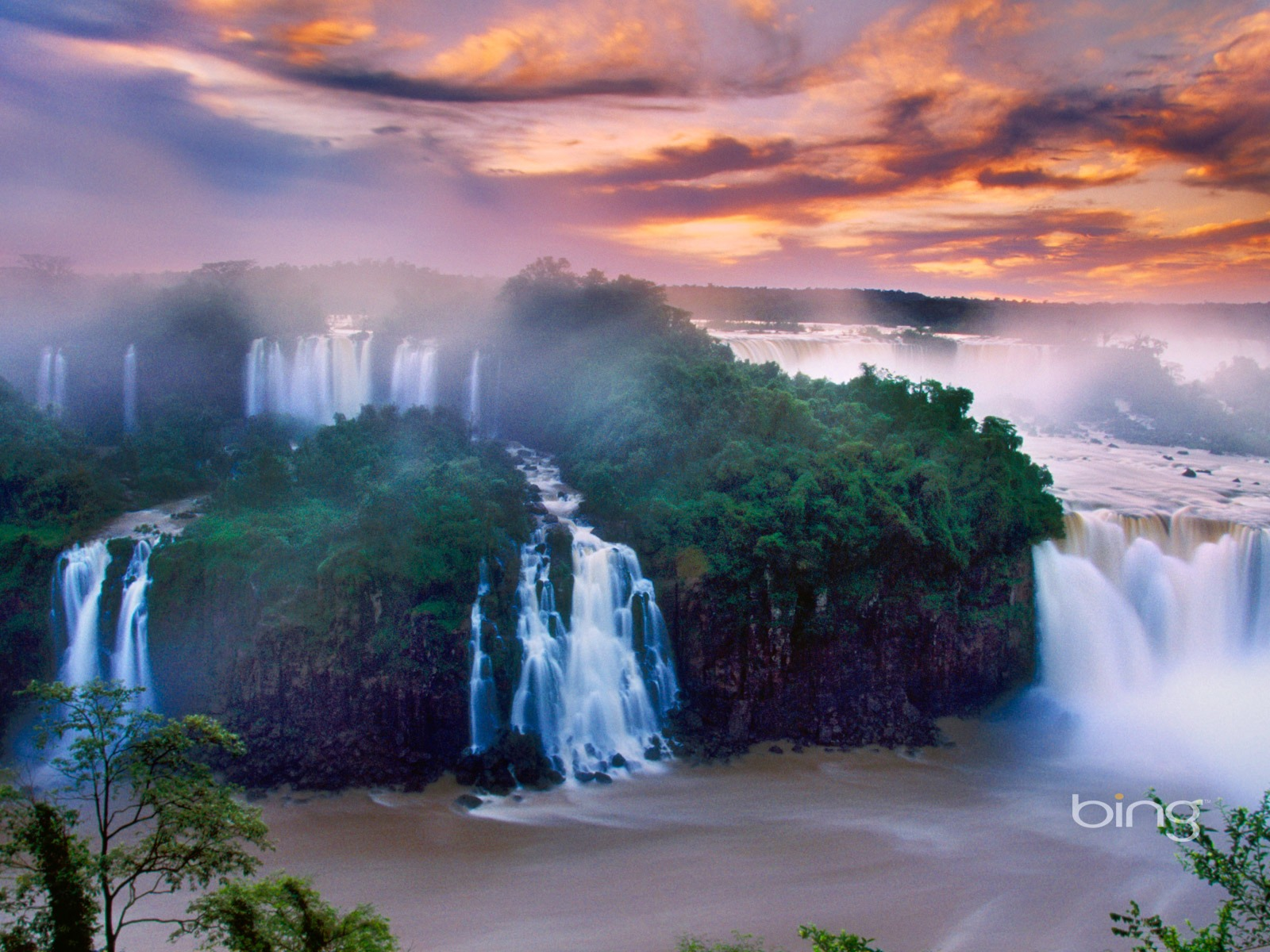 Spectacular Waterfalls 2013 Bing Widescreen Wallpaper Preview 10wallpaper Com