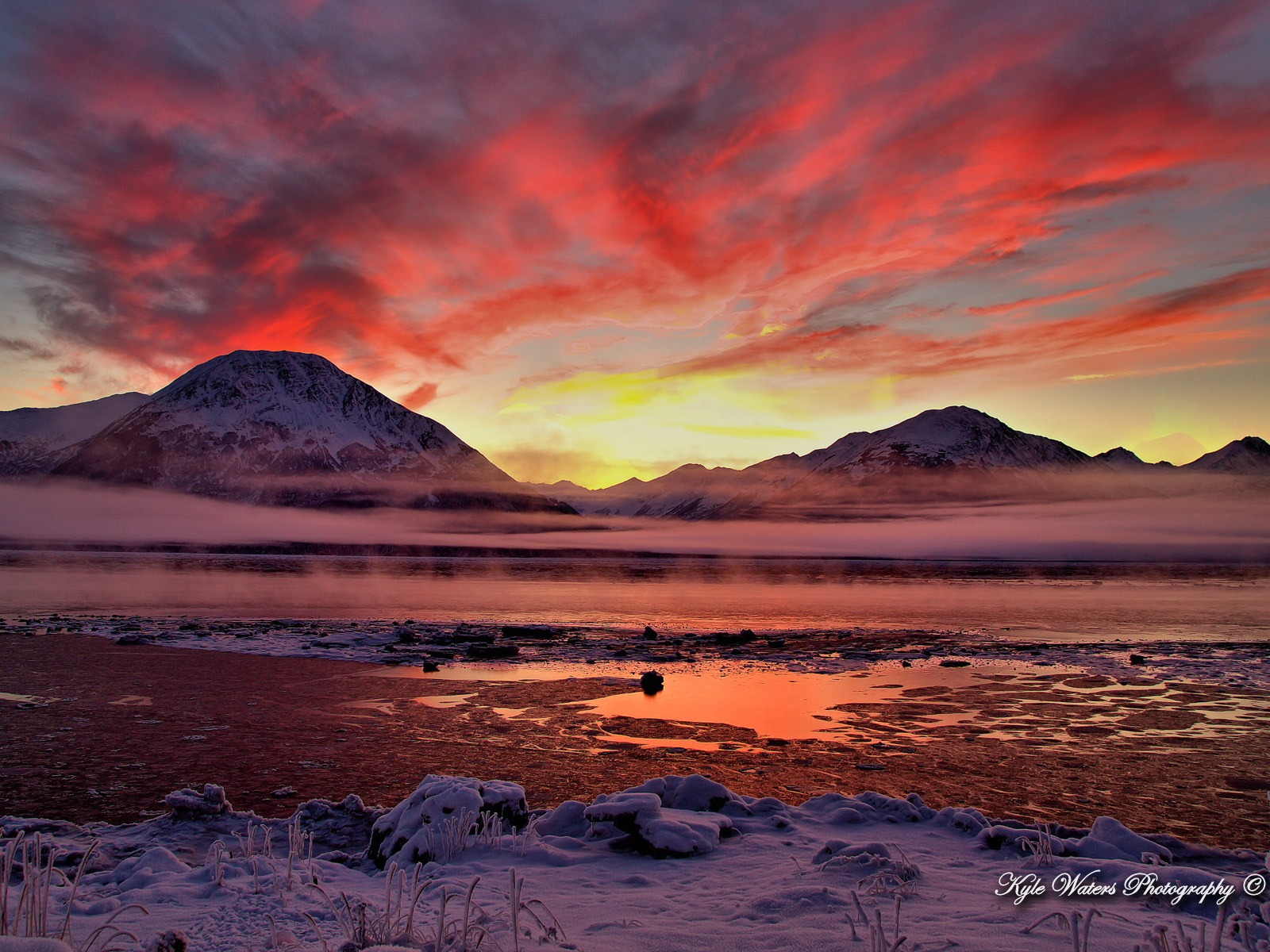 Beautiful alaska natural scenery desktop wallpaper 02 - Desktop wallpaper 1600x1200 ...