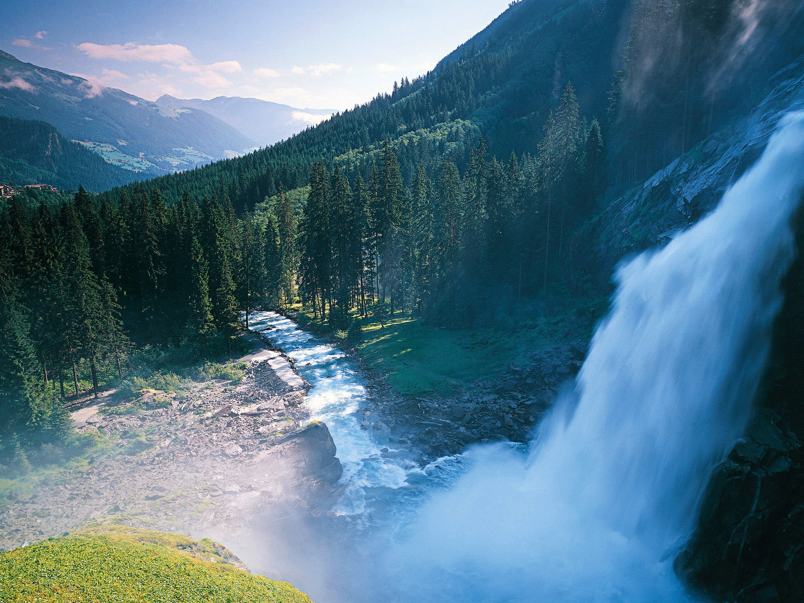 9 Spectacular Hd Waterfall Wallpapers To Download: Spectacular Waterfalls-Nature Landscape HD Wallpaper
