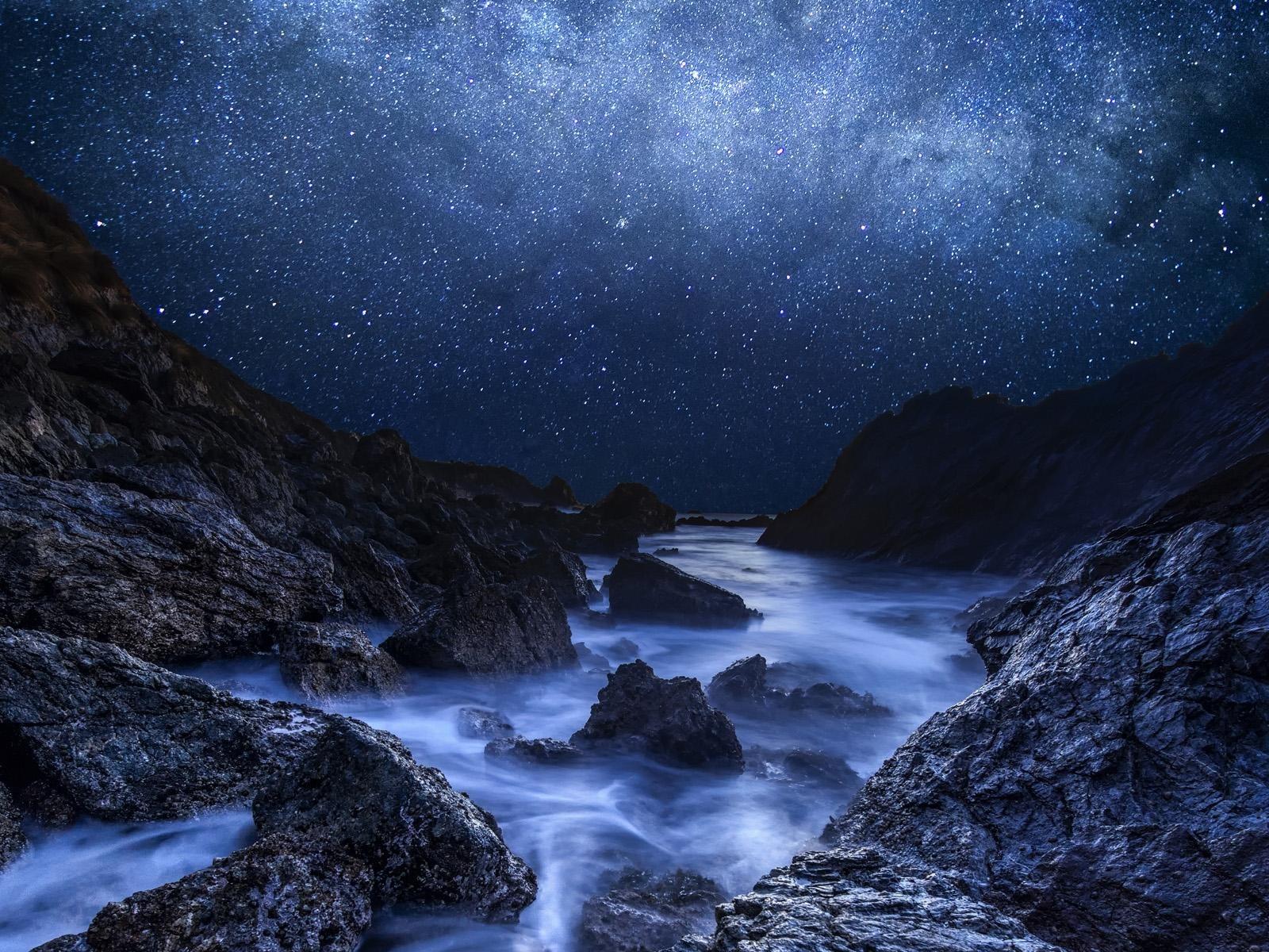 美しい夜景ギャラクシーhd壁紙プレビュー 10wallpaper Com