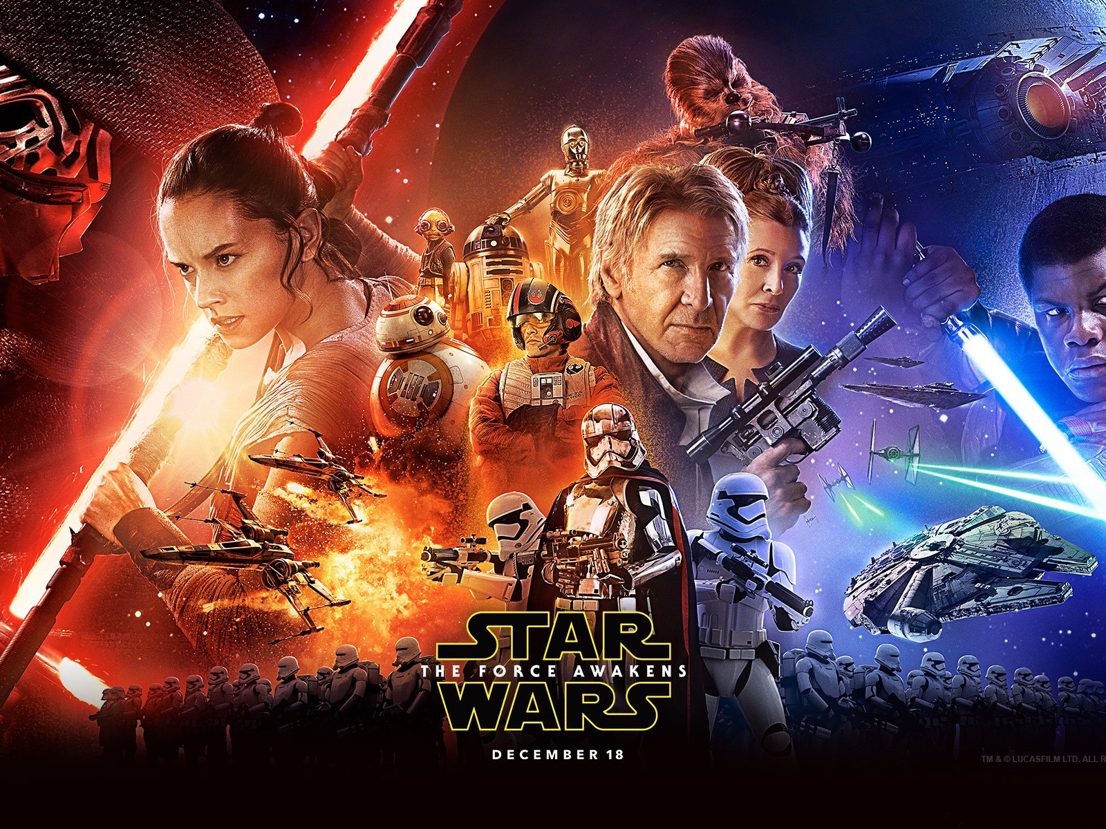 Star Wars The Force Awakens 2015 Hd Wallpaper 15 Preview