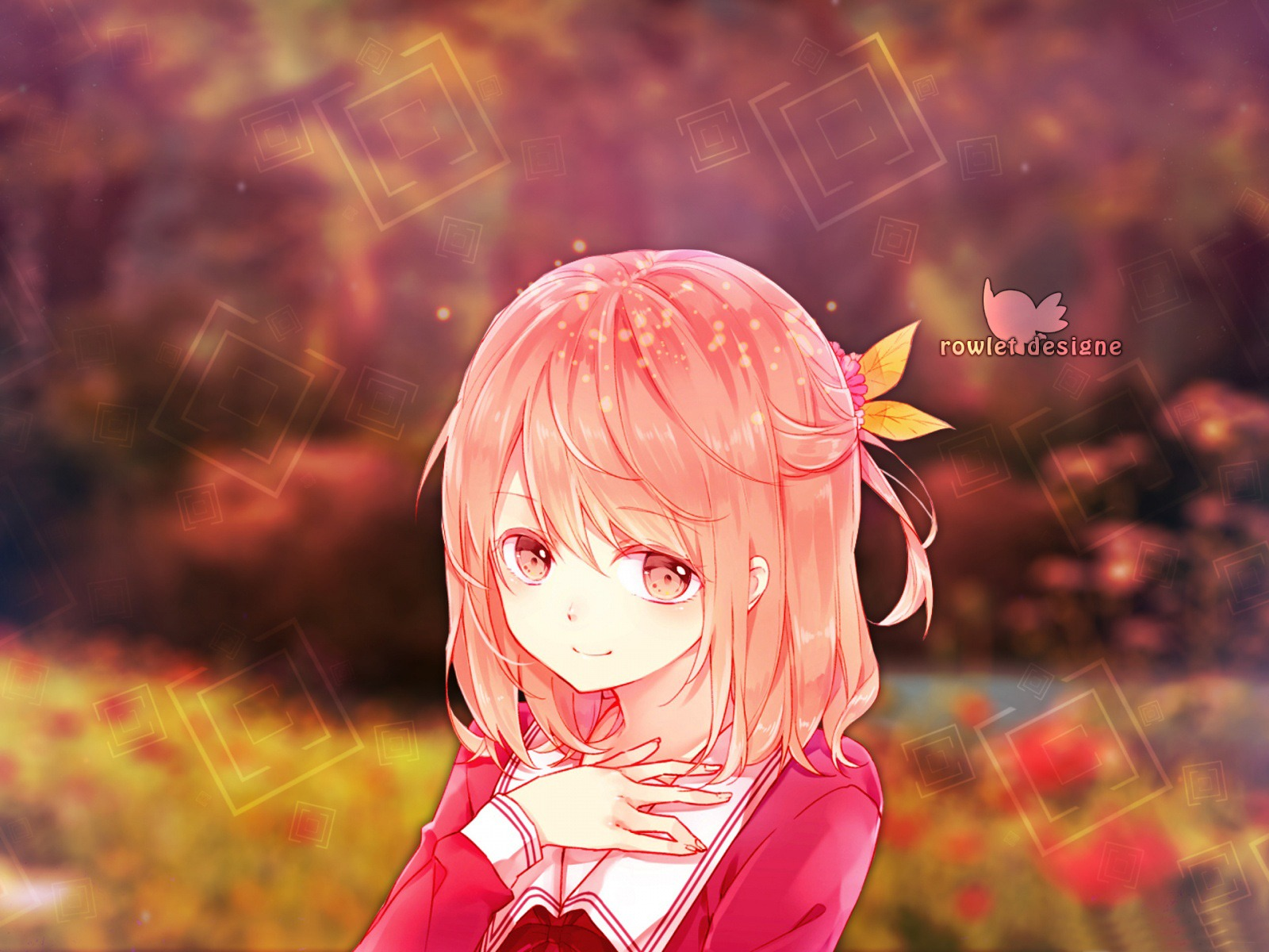 Cute Anime Girl High Definition Wallpaper 21556 - Baltana
