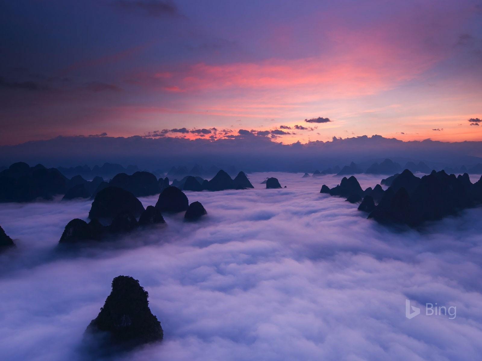 huangshan mountains in china