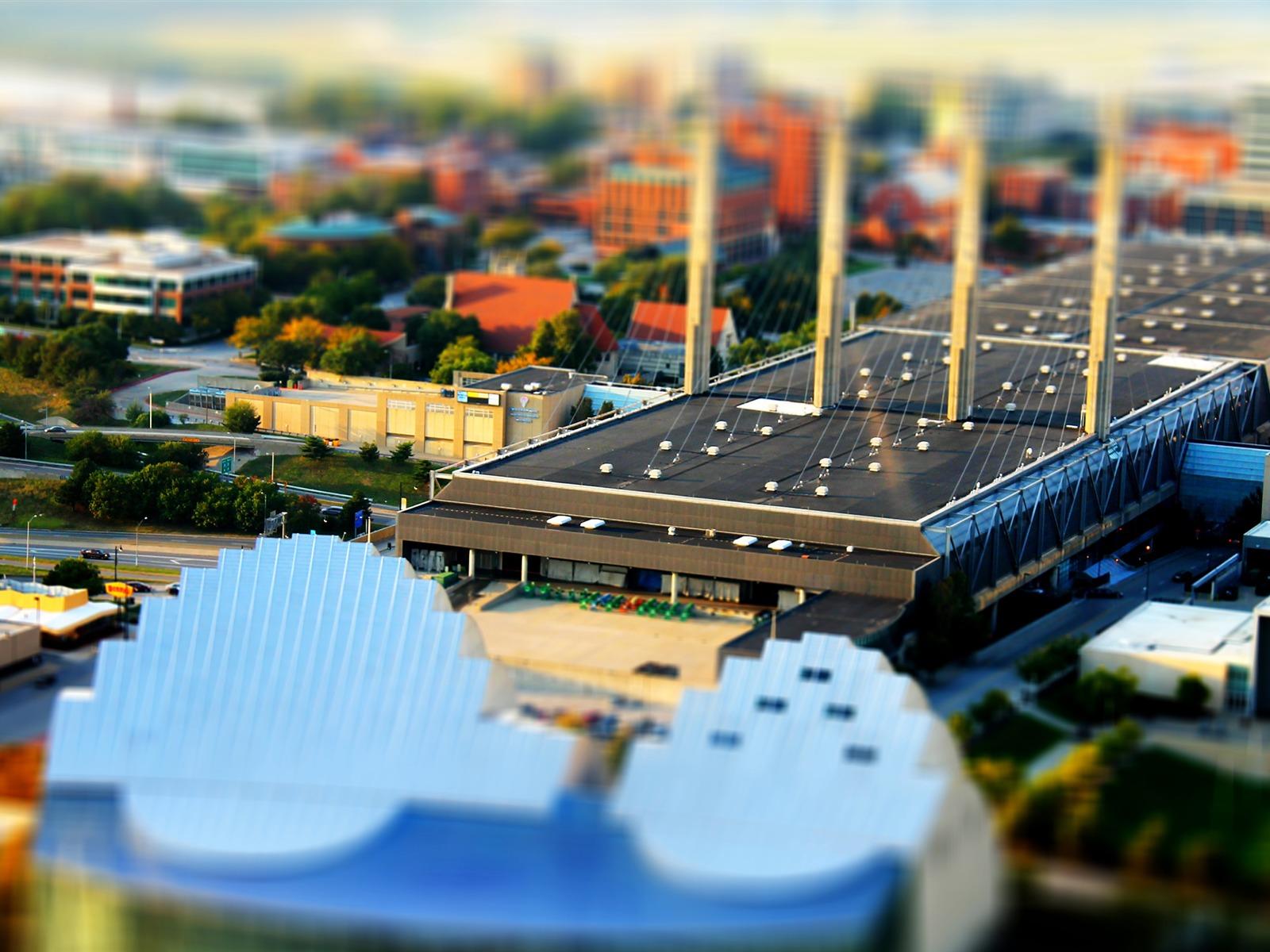 ミニチュアダウンタウン マイクロ都市の写真のhdの壁紙プレビュー 10wallpaper Com