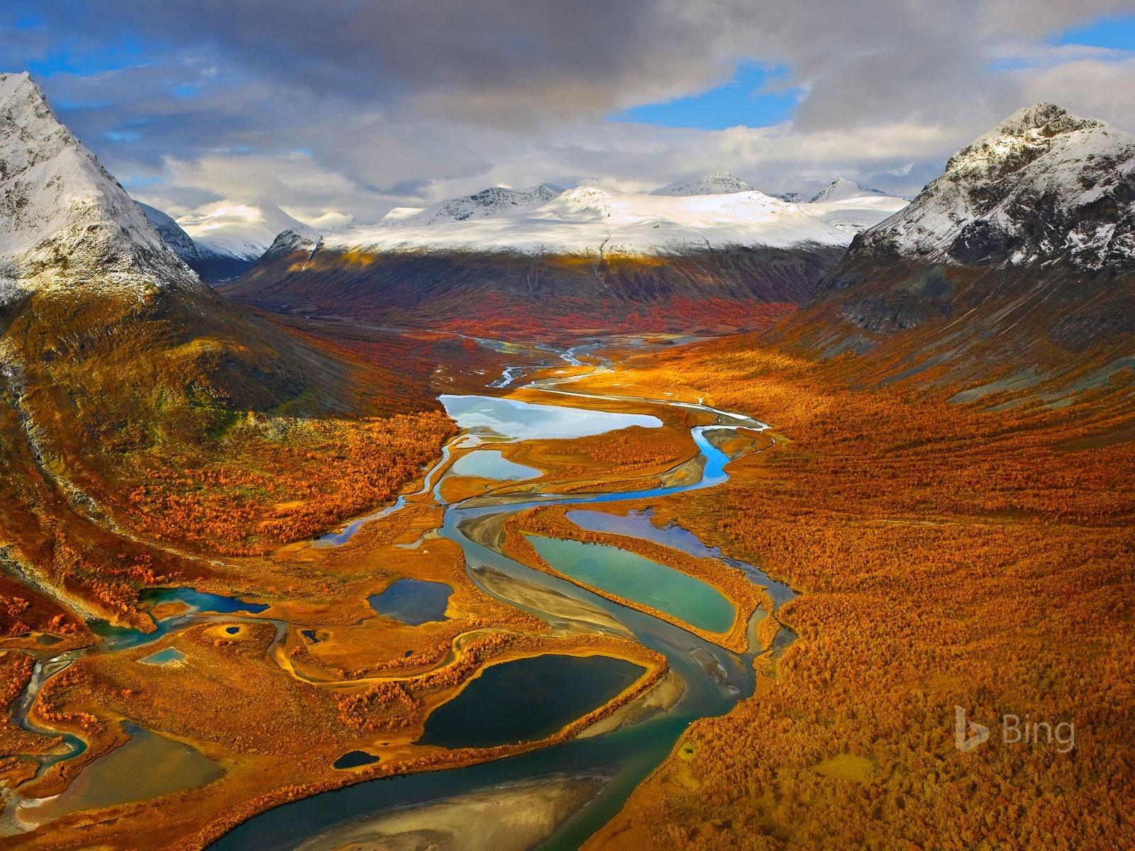 Sweden The Rapa Valley In Sarek National Park 2017 Bing