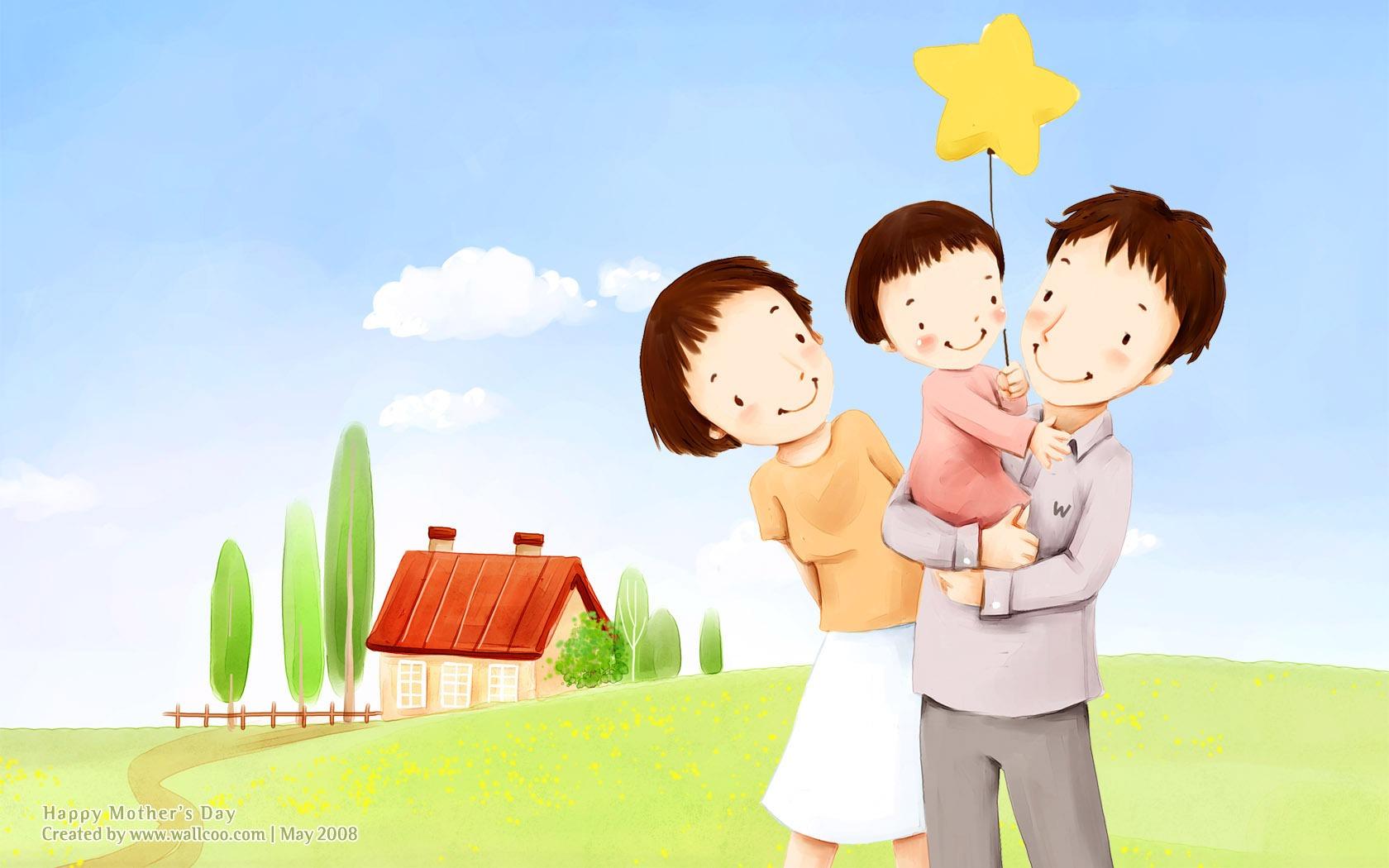 Рисунок семьи животных как метод диагностики семейных отношений 4