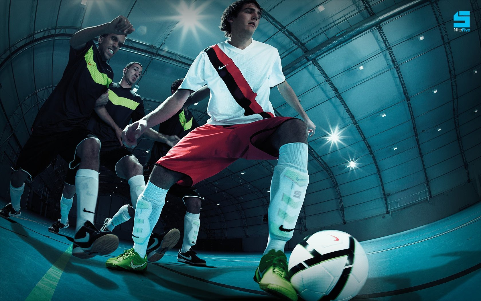 NIKE 5 Futsal Nike Boots Wallpaper Preview