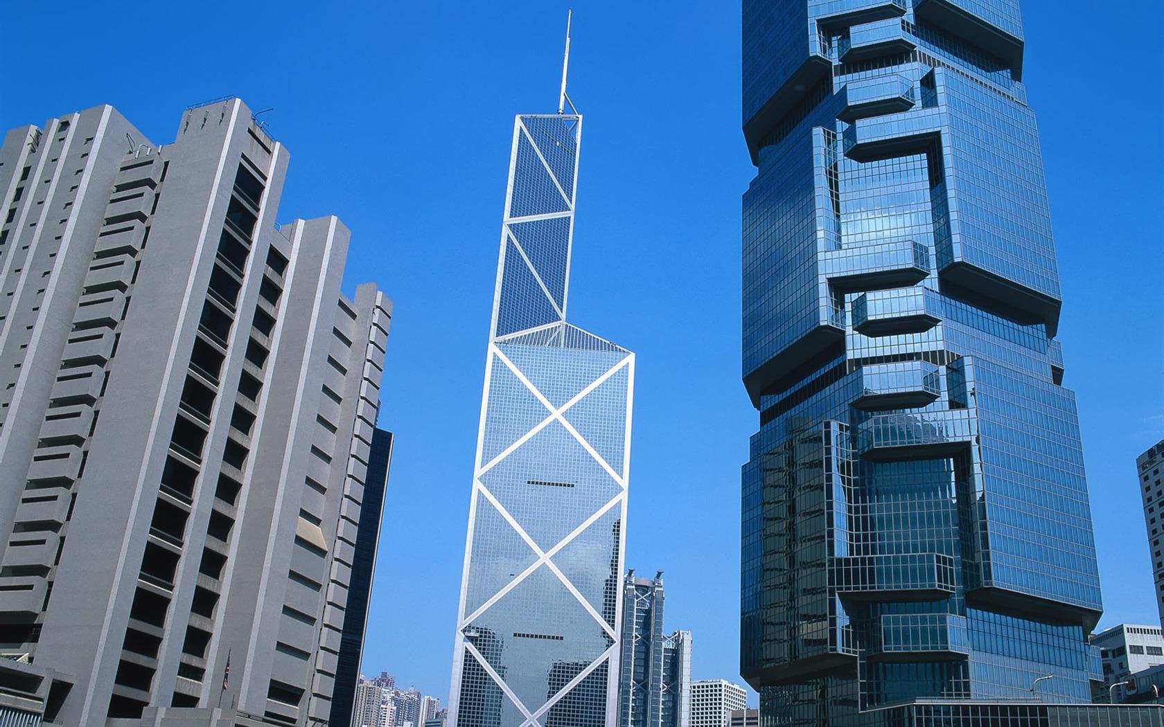 Description Bank Of China Tower Hong Kong Landscape Wallpaper Current