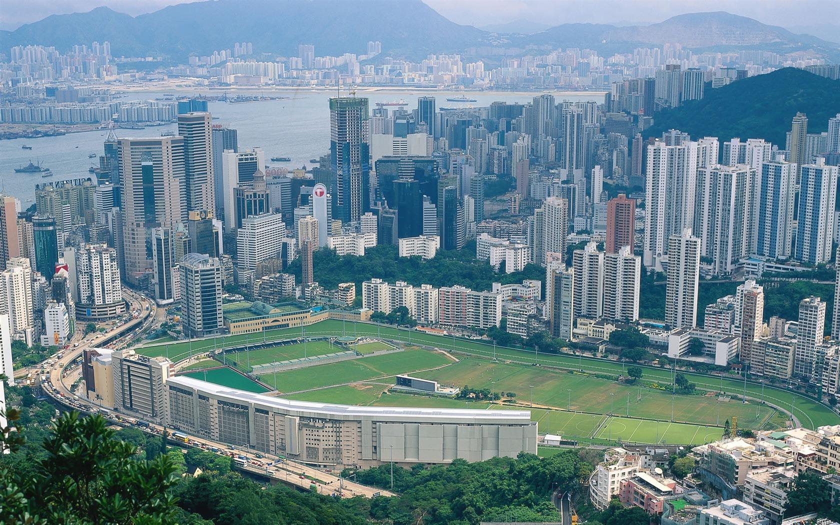 Description: Happy Valley Sports Ground-Hong Kong landscape wallpaper ...