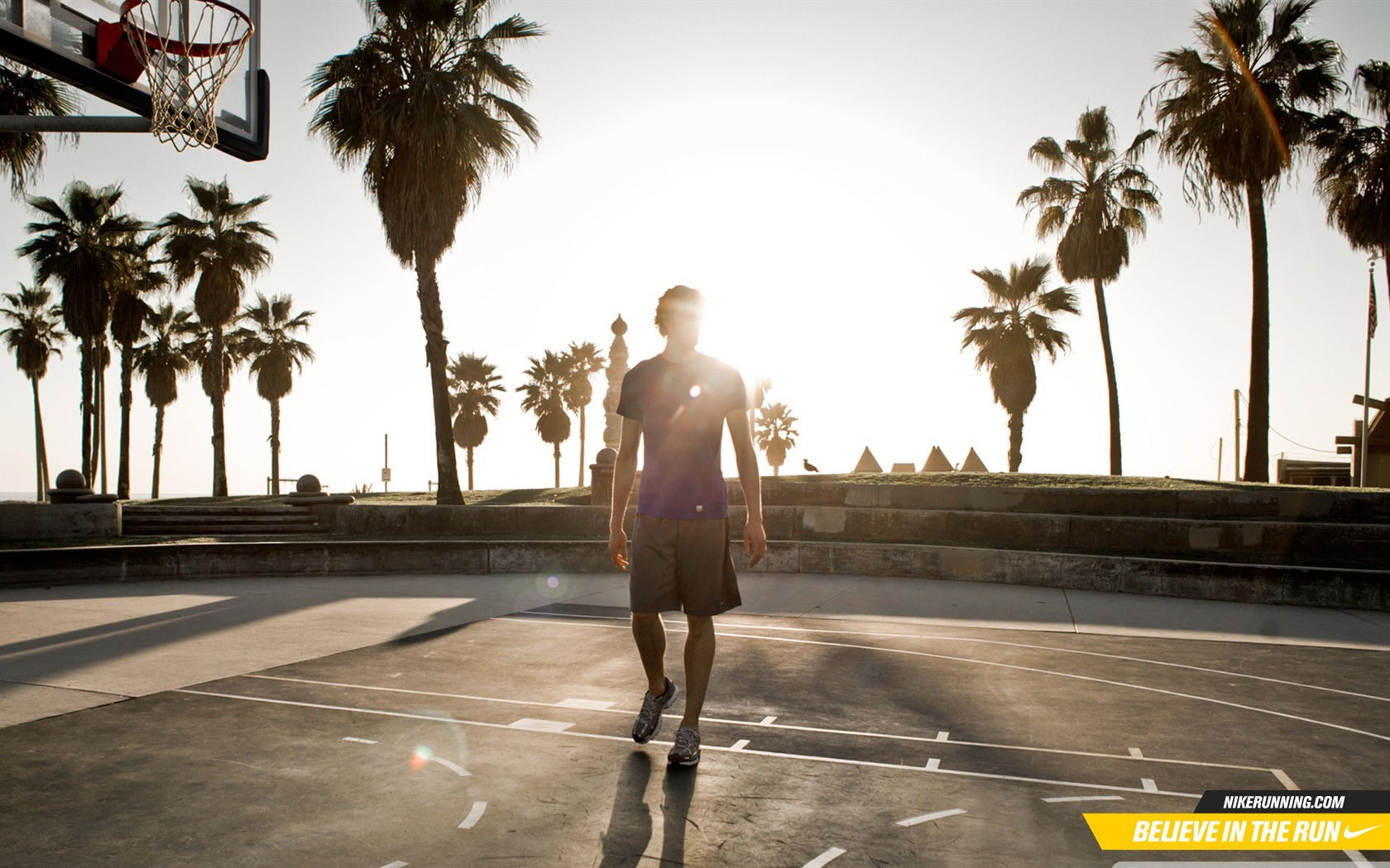 加索尔篮球场-魅力篮球运动桌面壁纸预览 | 10wallpaper.com