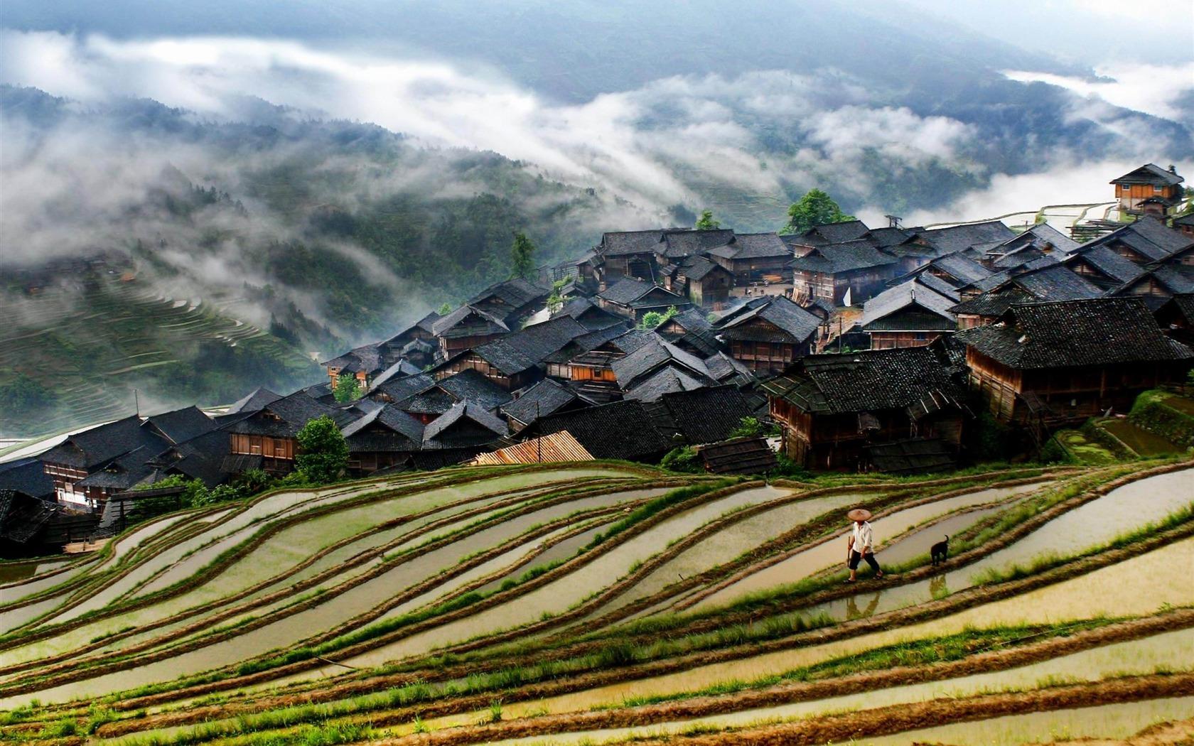 Xijiang Miao Village Guizhou china-Nature rivers Landscape Wallpaper ...: www.10wallpaper.com/down/Xijiang_Miao_Village_Guizhou_china-Nature...