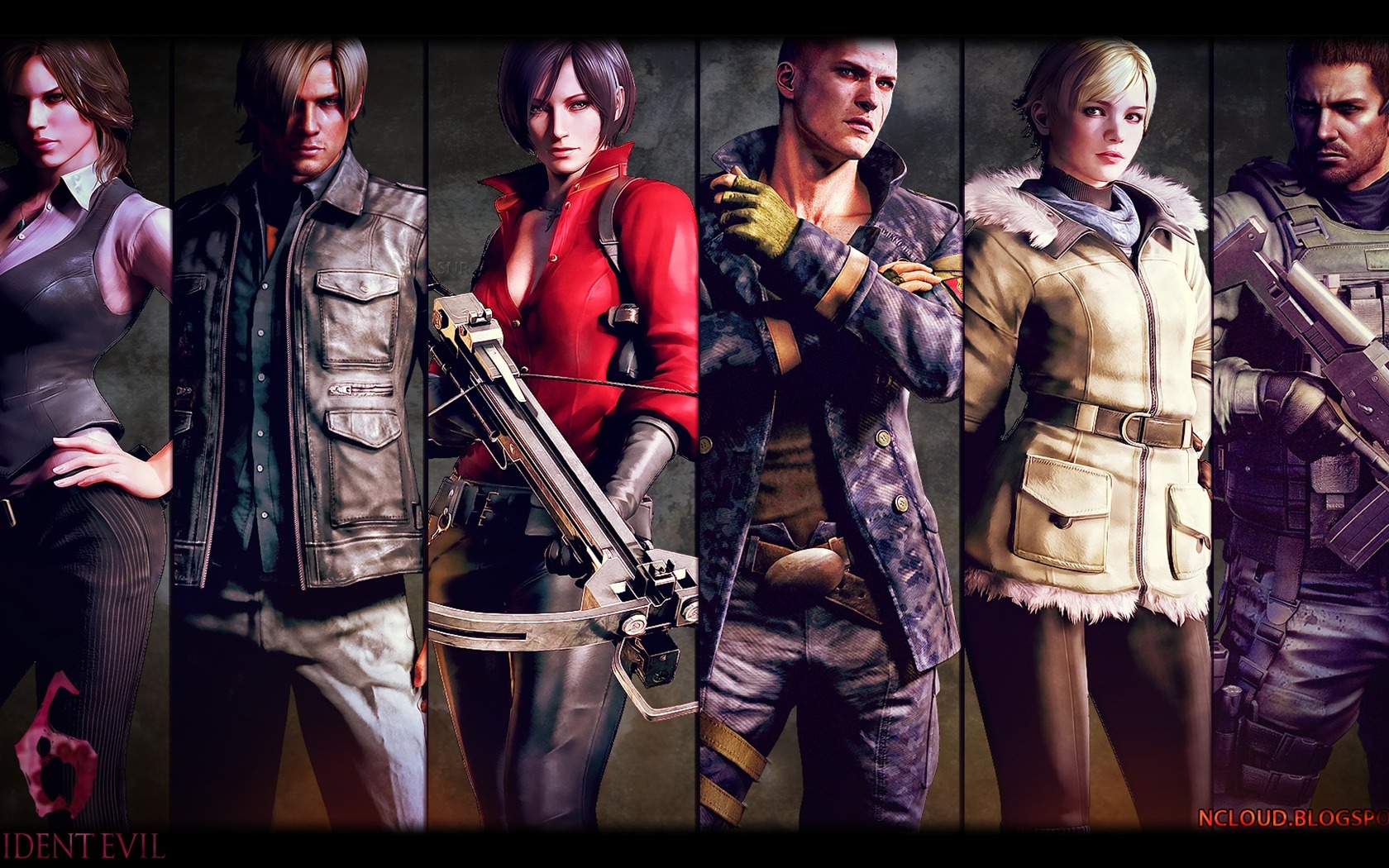 Resident Evil 6 Game Hd Wallpaper 11 Preview 10wallpapercom