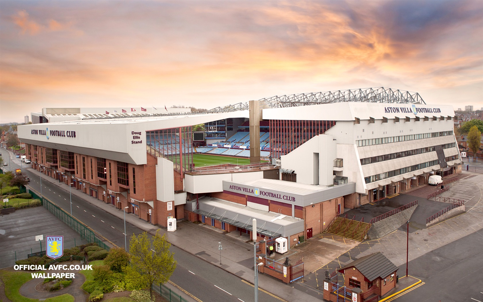 Villa Park From The Air-Aston Villa 2012 Wallpaper Preview
