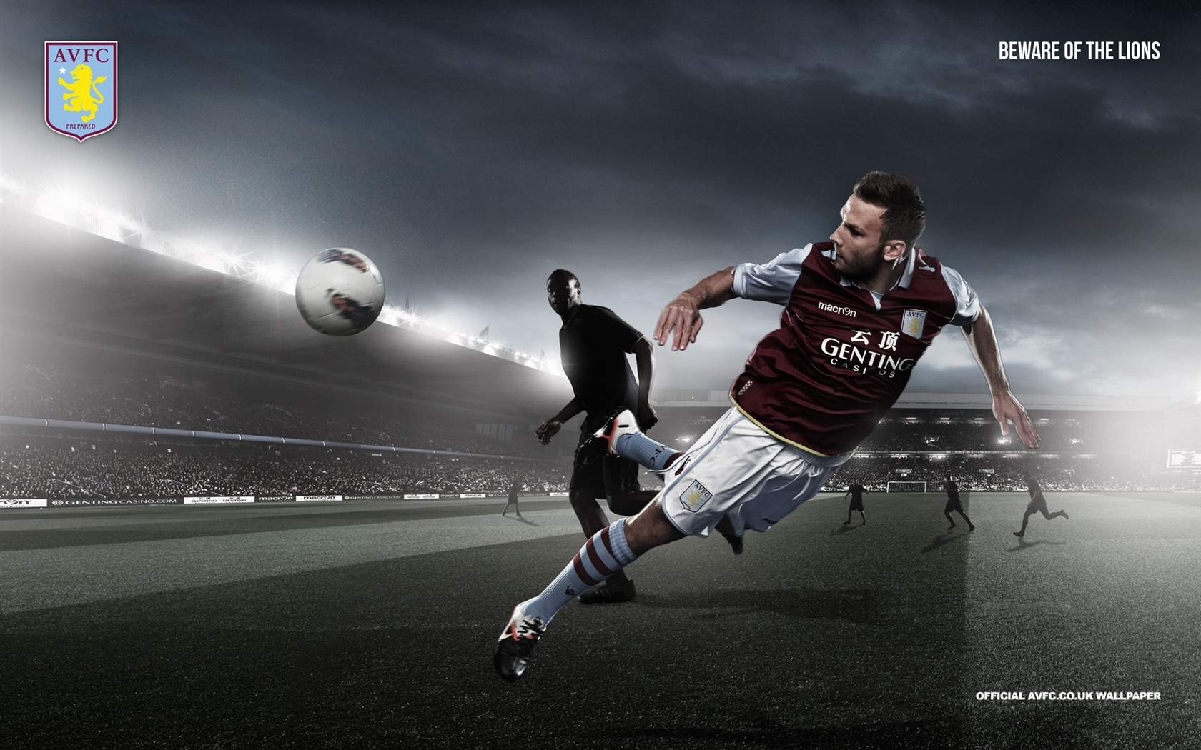 Weimann Off To A Flyer-Aston Villa 2012阿斯顿维拉壁纸预览