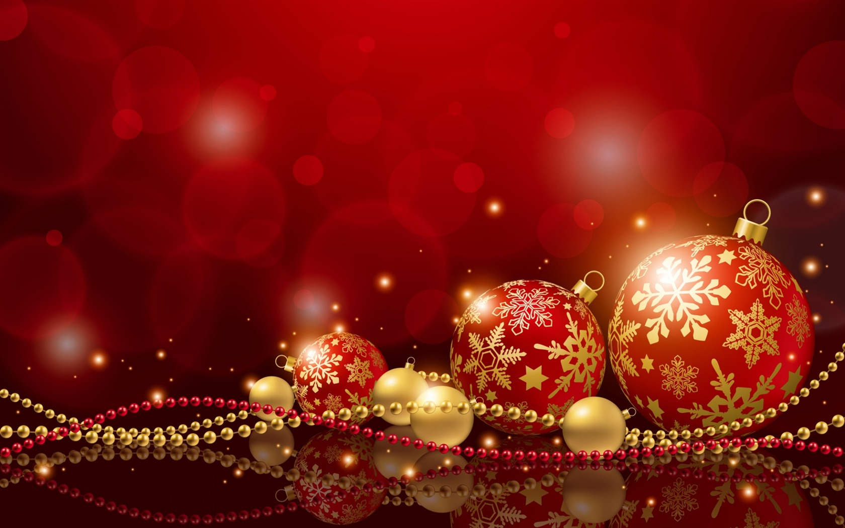 christmas holiday balls new years-holiday theme wallpaper preview
