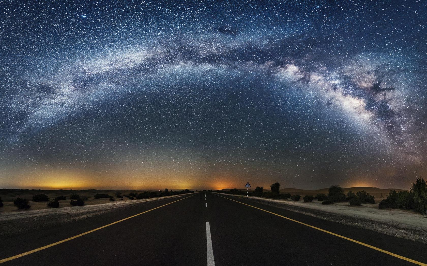 beautiful sky highway