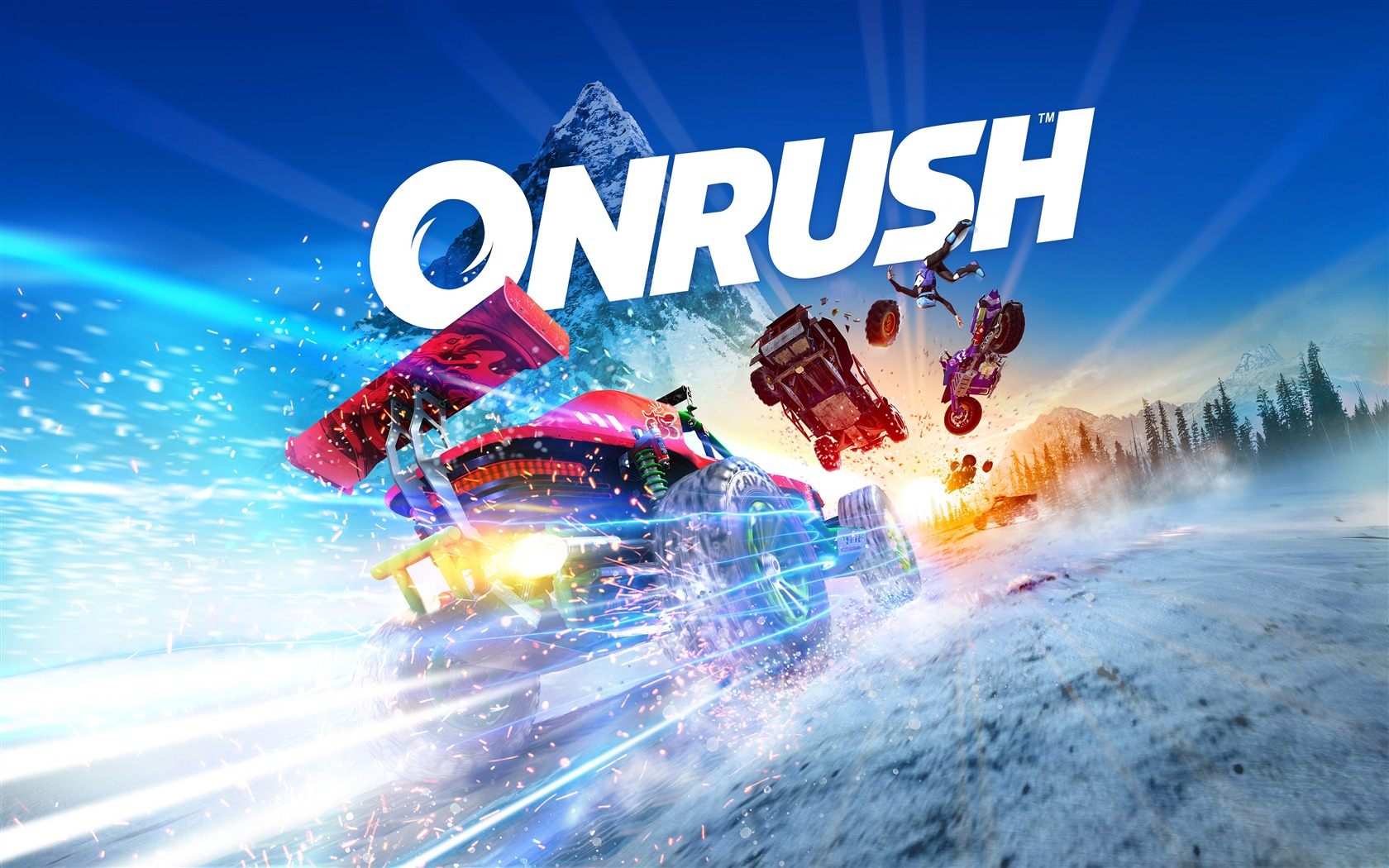 Onrush 2018 Video Game 4K HD Poster - 1680x1050 wallpaper download