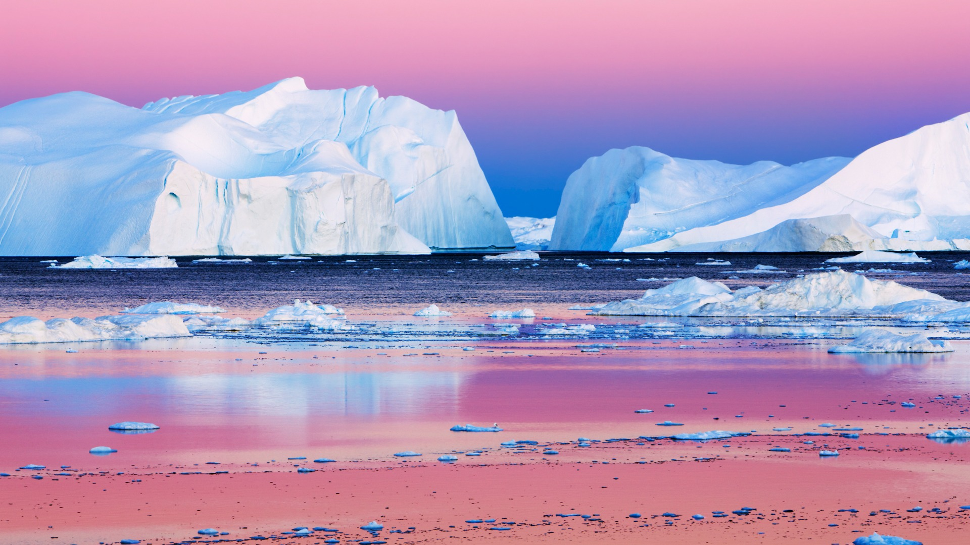Iceberg wallpaper Disco Bay Greenland - 1920x1080 wallpaper download -