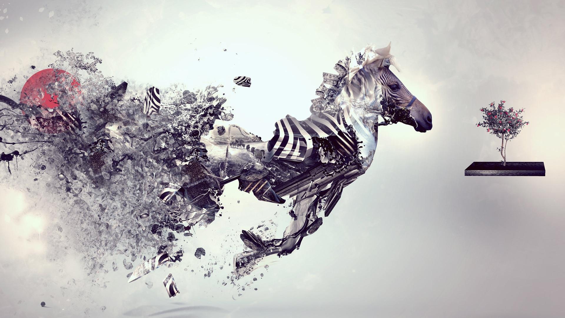 Animal Theme Design Wallpaper Computer Ps Preview