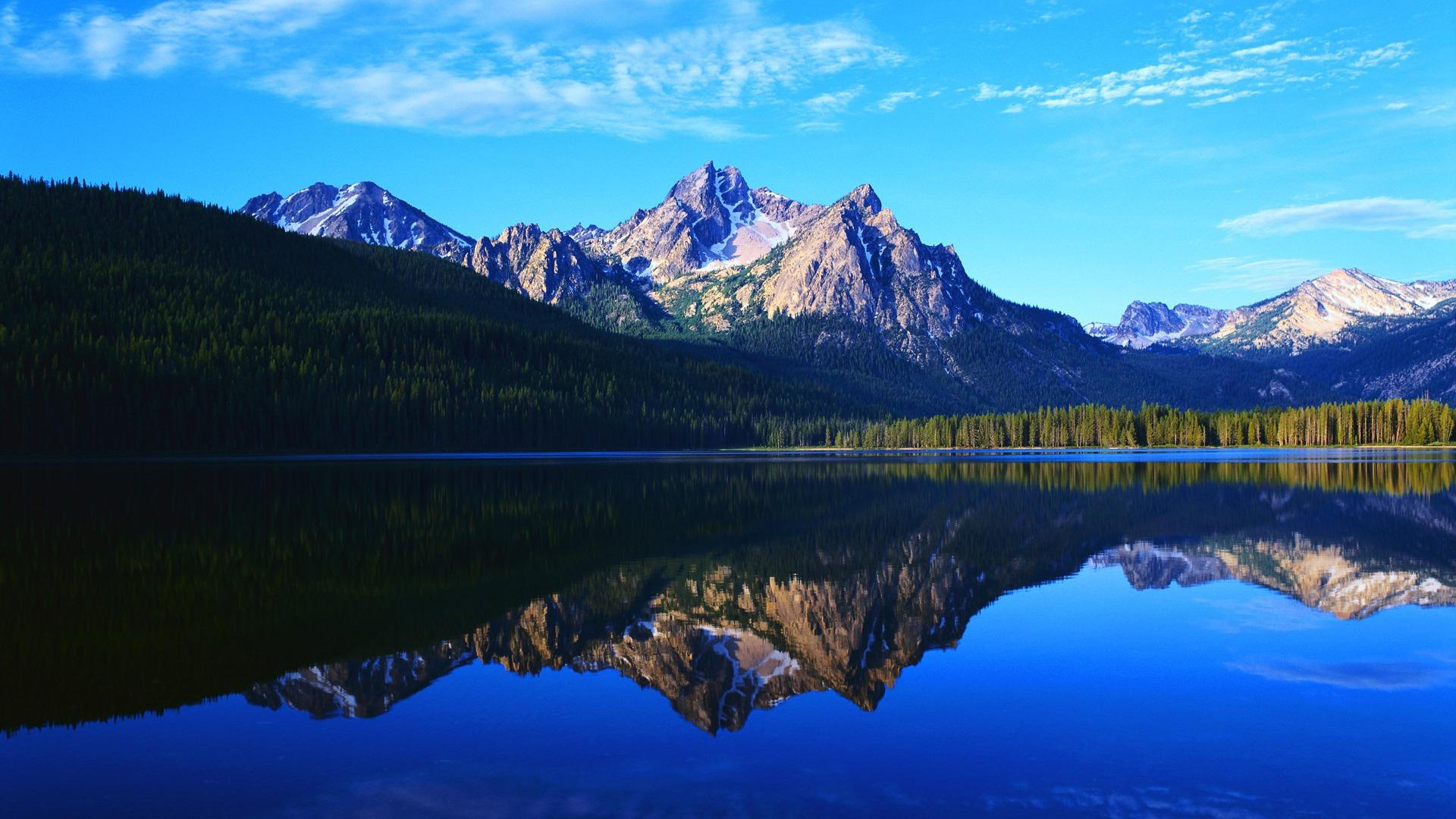 mountain lake wallpaper 1920x1080 - photo #22