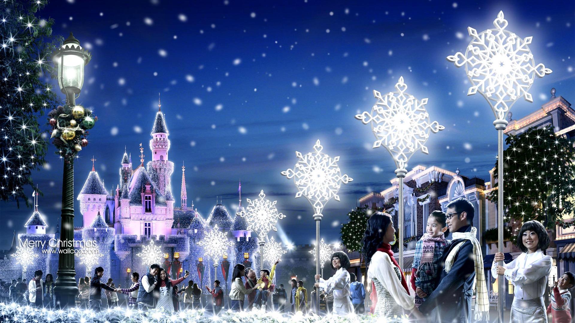 Disneyland christmas wedding