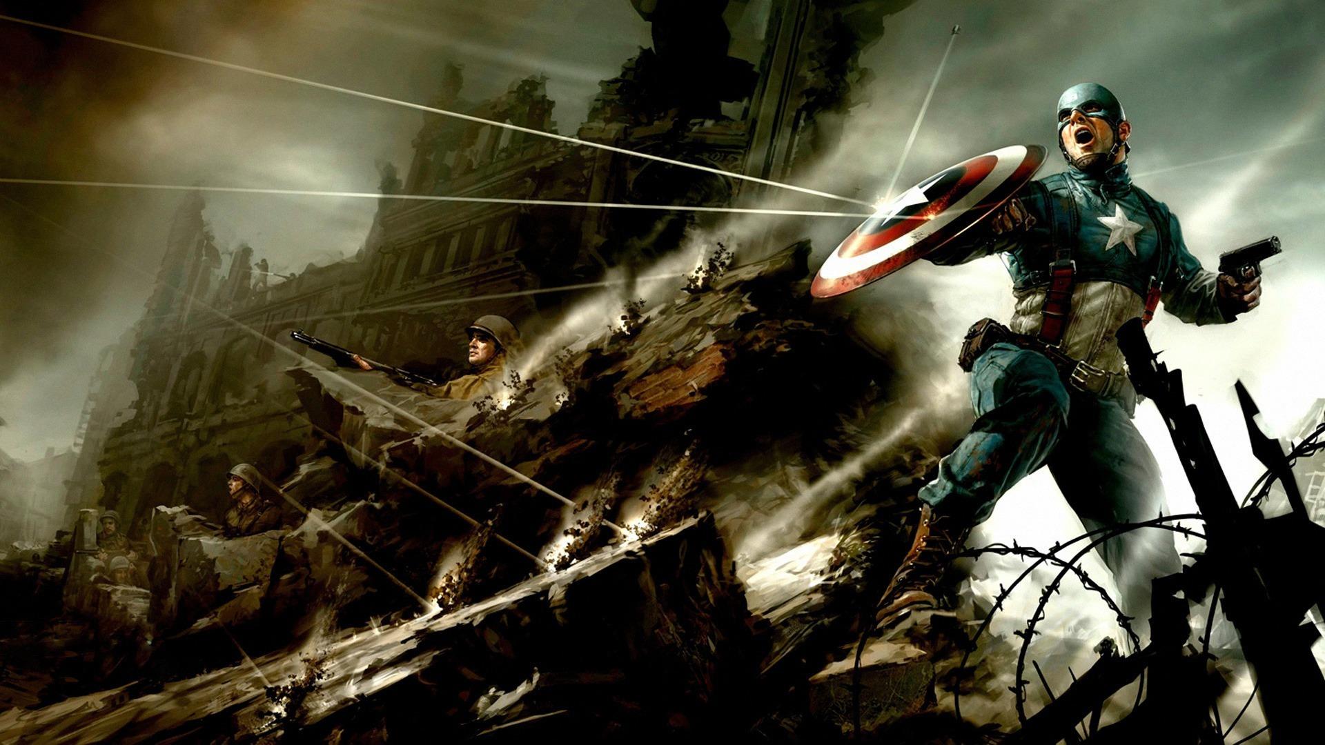 美国队长 第一复仇者 高清电影壁纸