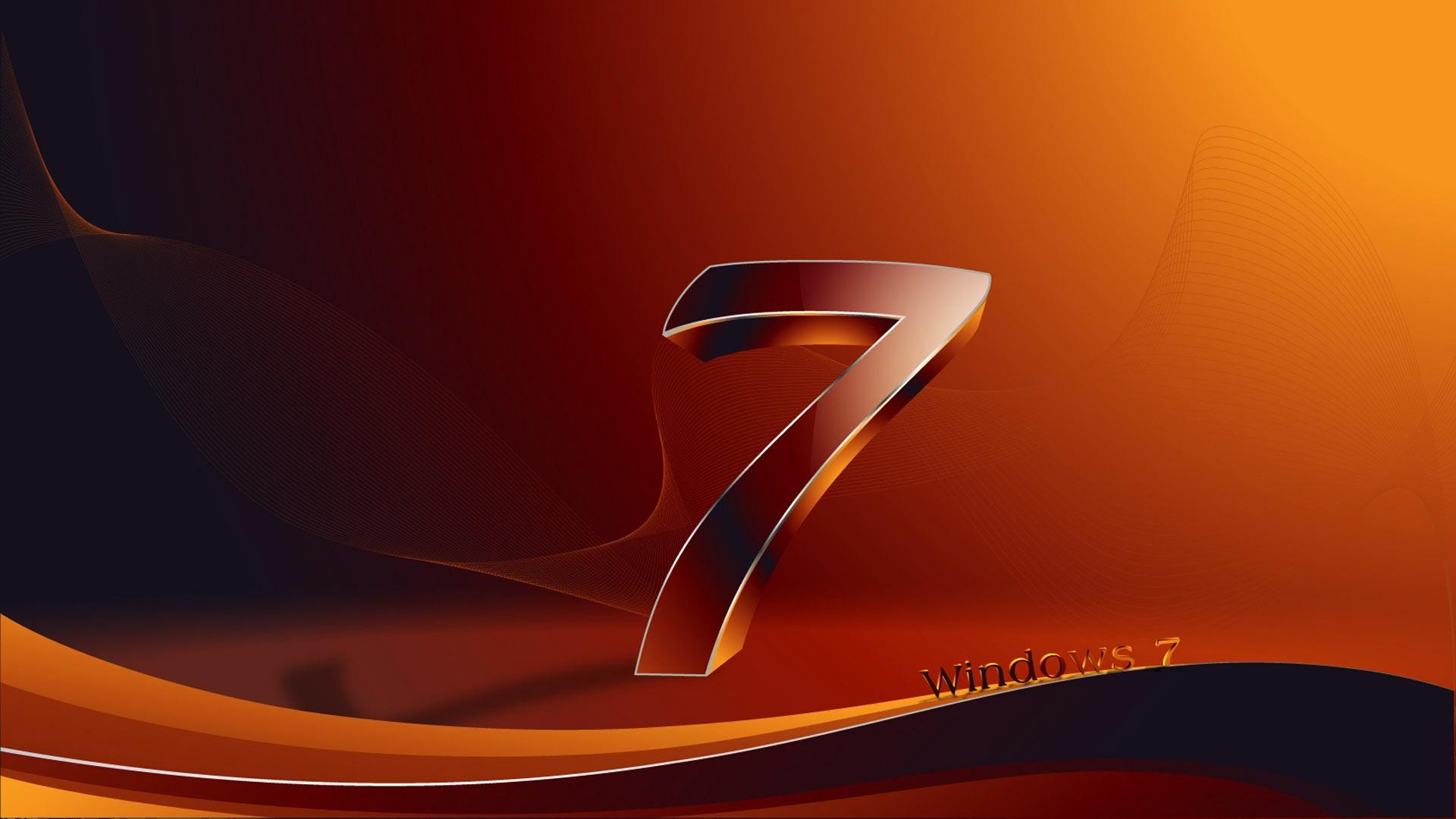 クリエイティブ windows 7 デザイン- ブランドの壁紙の選択 / 1920x1080