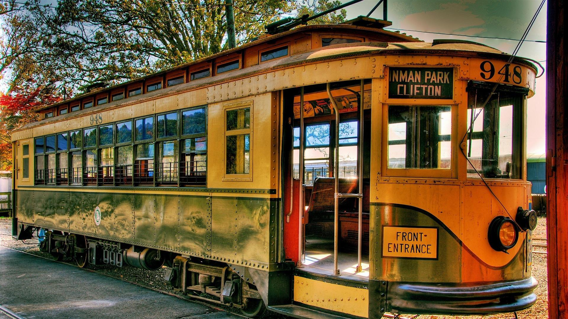 Vieux Tramway Trains Et Chemins De Fer S 233 Rie Wallpaper