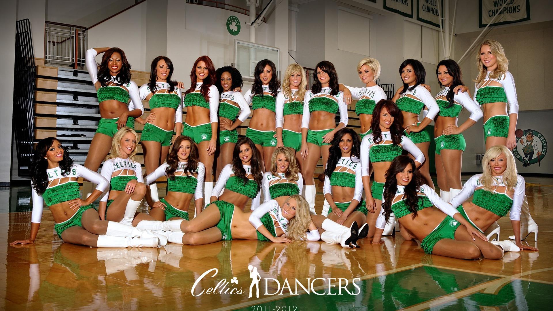 Boston Celtics 2011-2012 season beautiful Dancers Wallpapers Preview | 10wallpaper.com