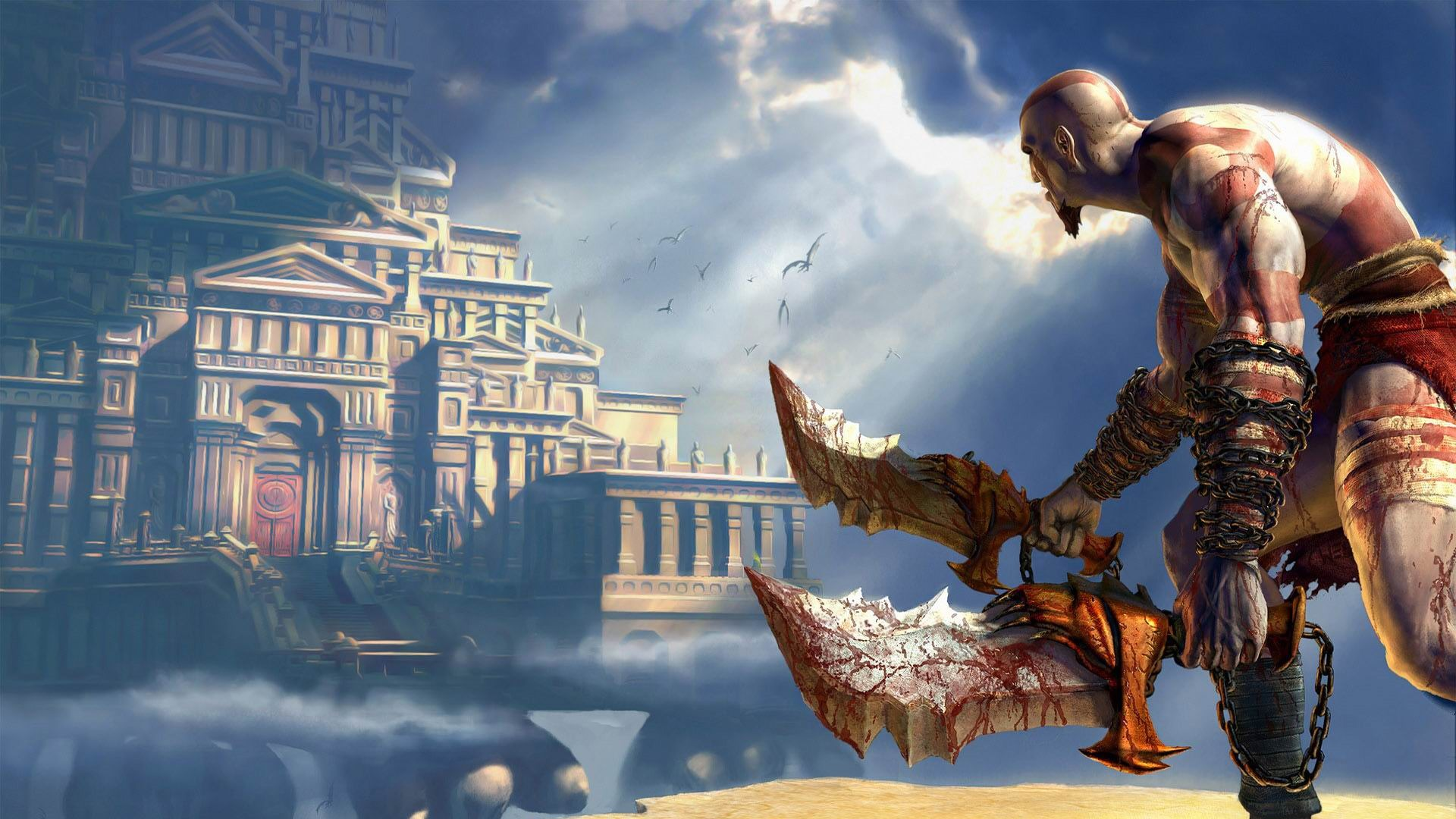 God Of War Hd Game Wallpaper Avance 10wallpapercom