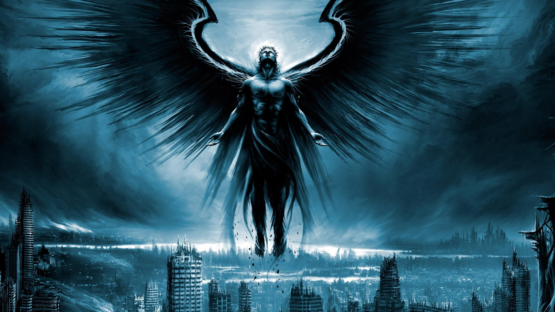 Dark Angel High Quality Wallpaper Preview 10wallpaper Com