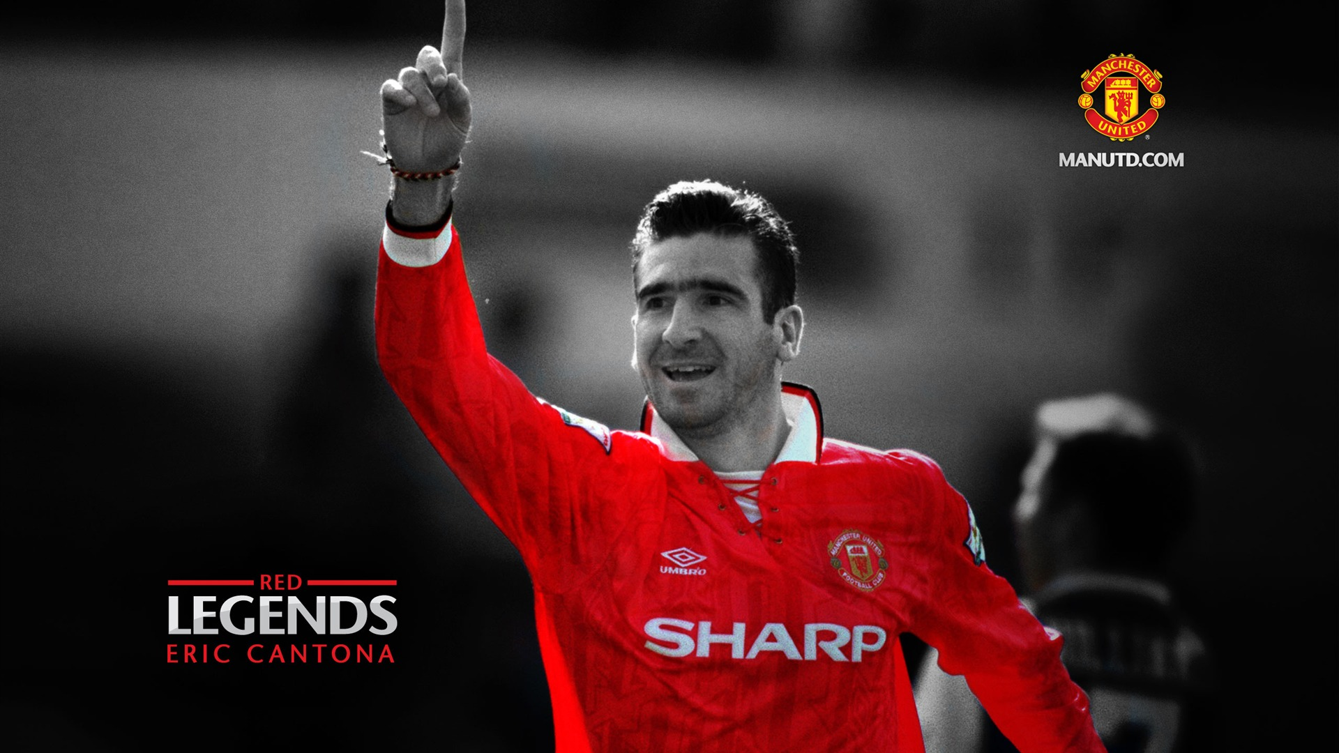 Eric cantona red legends manchester united wallpaper for Where can i get wallpaper