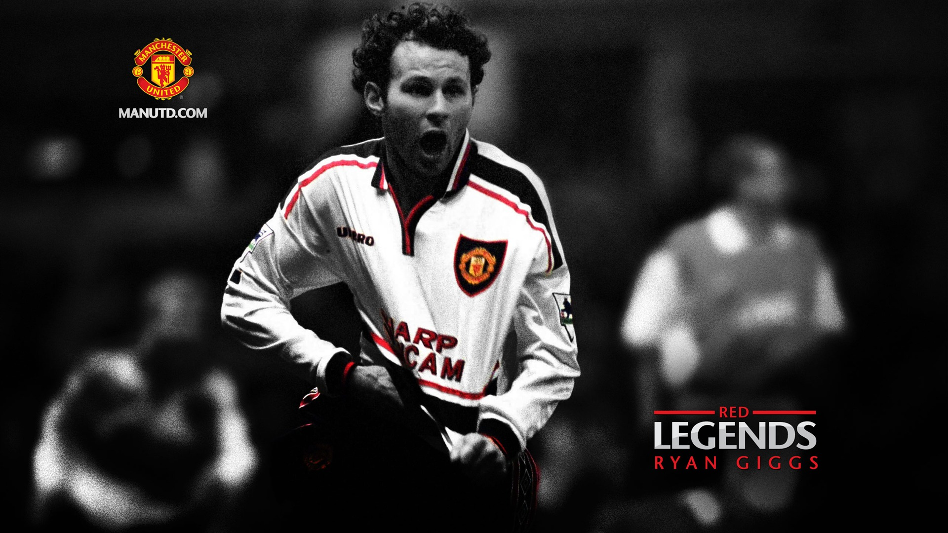 wallpaper Ryan Giggs-Red  Legends-Manchester United Preview