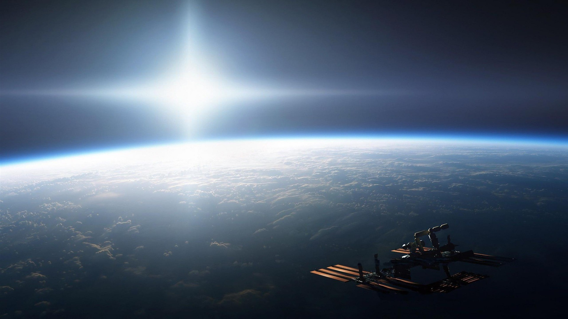 Estación Espacial Hd Space Wallpapers Avance 10wallpapercom