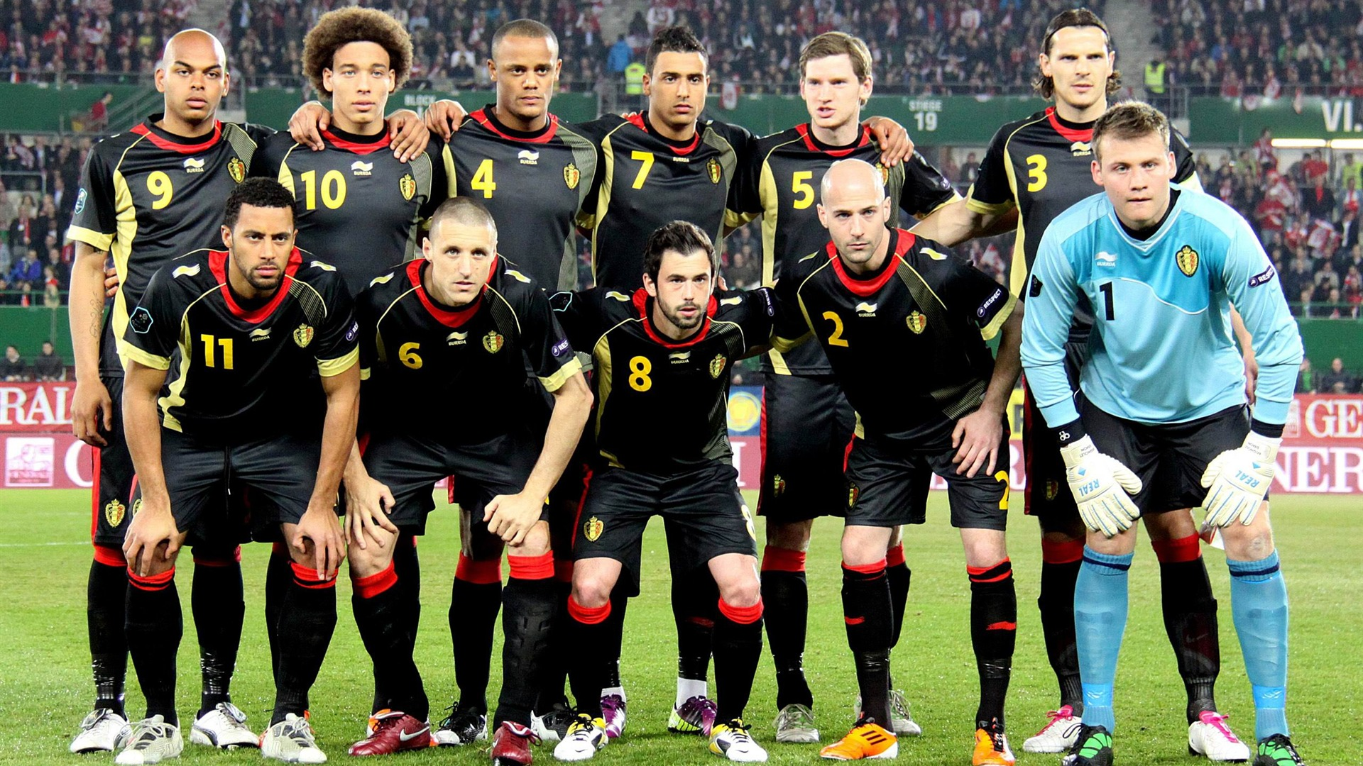 L 233 Quipe De Football En Belgique Euro 2012 Fonds D 233 Cran
