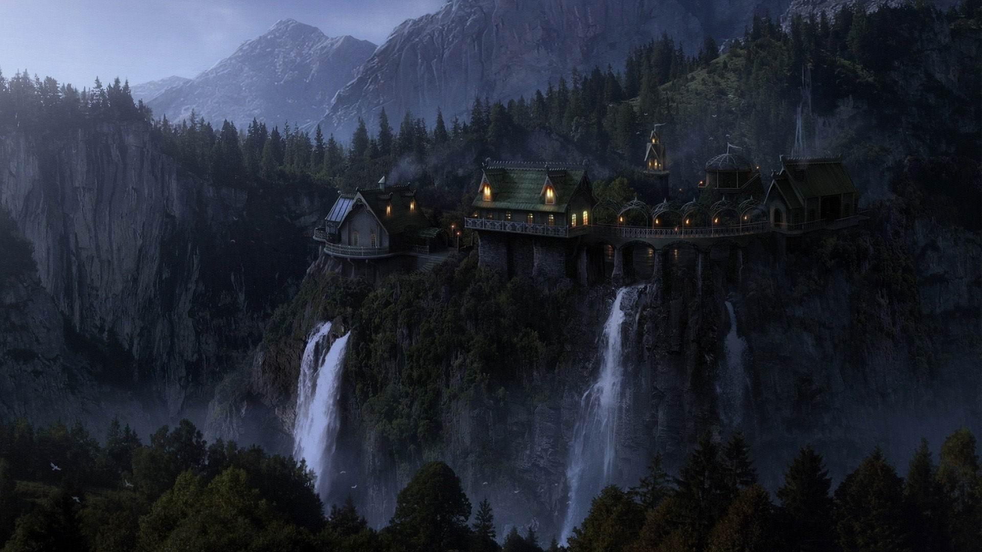 夢のような風景 ファンタジーデザインの壁紙プレビュー 10wallpaper Com