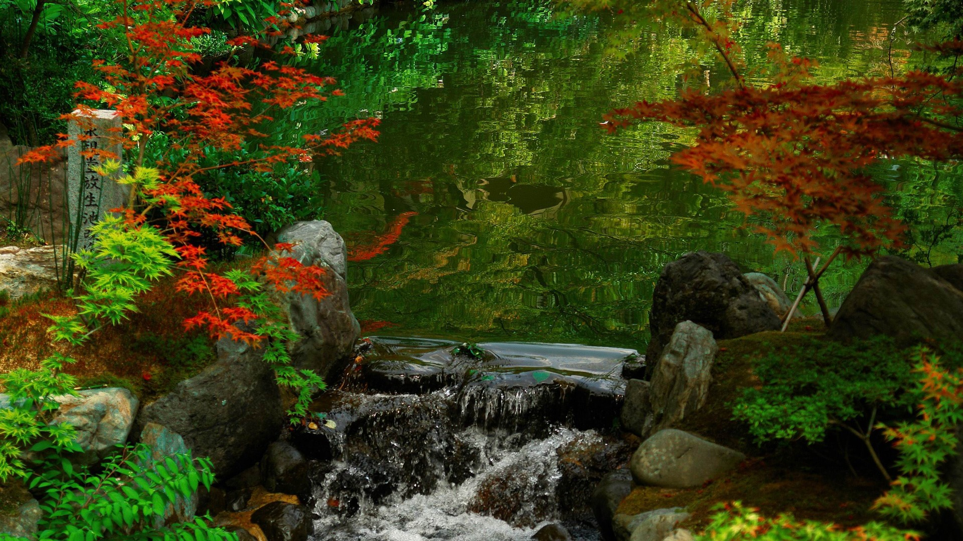 Landscape / kyoto garden-Japan Landscape Wallpaper