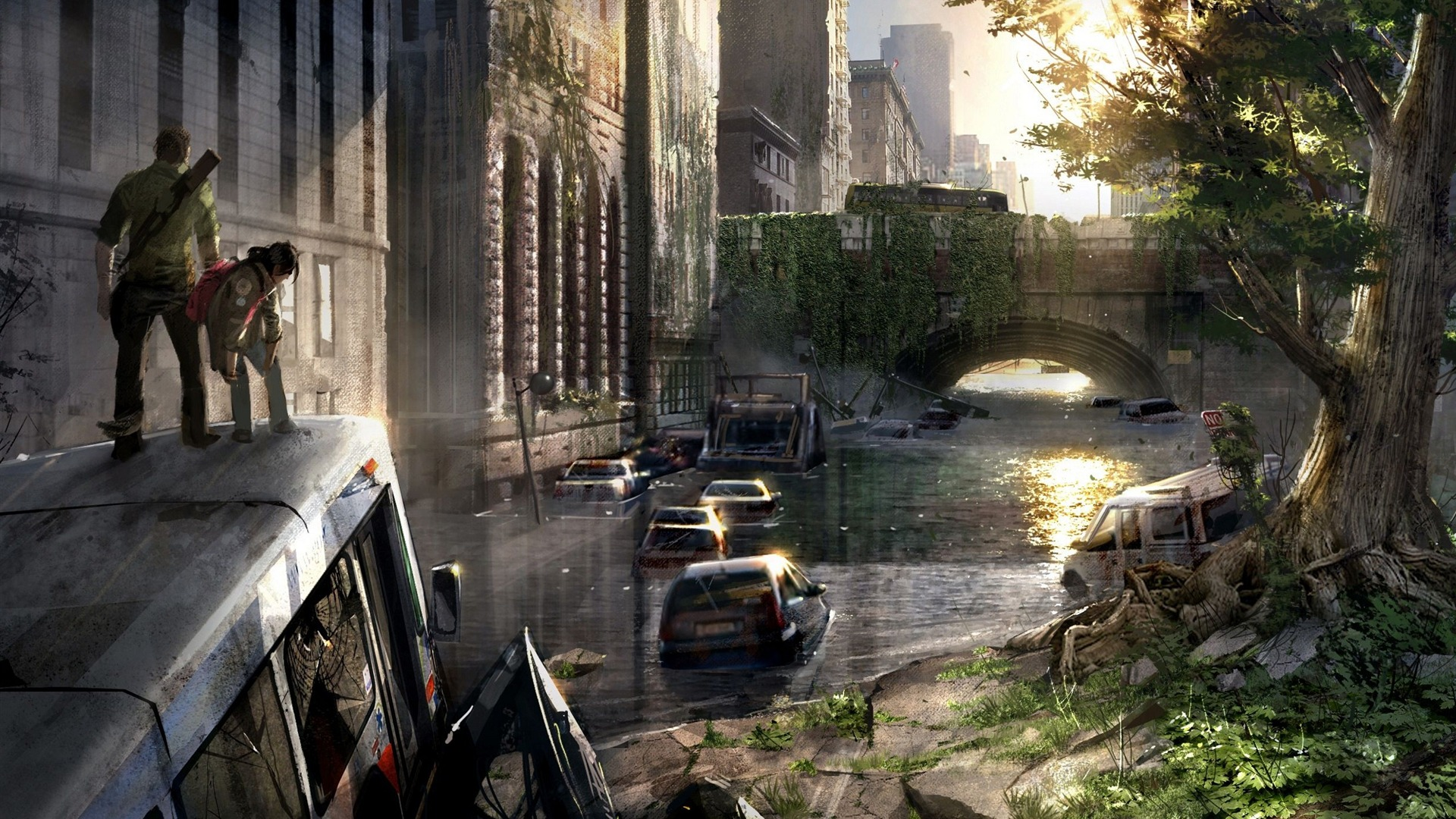The Last Of Us Game Hd Wallpaper 07 Avance 10wallpapercom