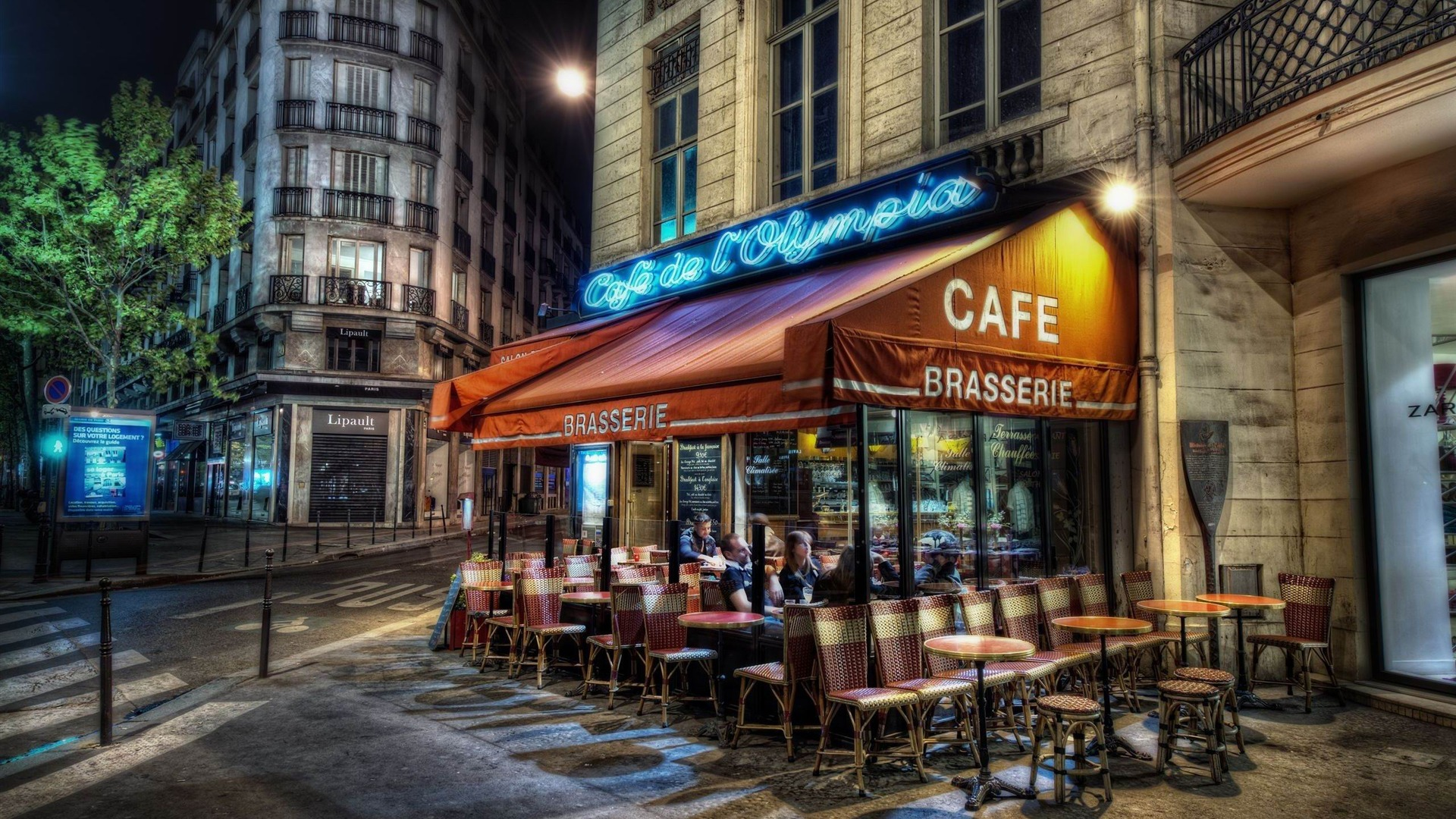 德国_咖啡馆巴黎-法国风景壁纸预览 | 10wallpaper.com
