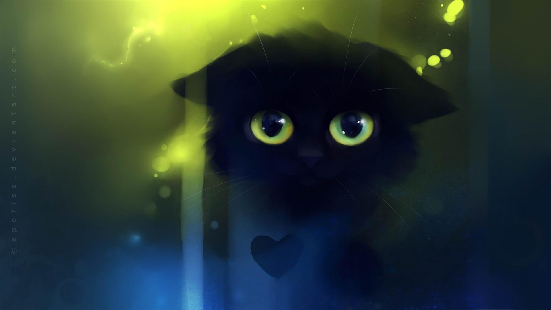 triste chat