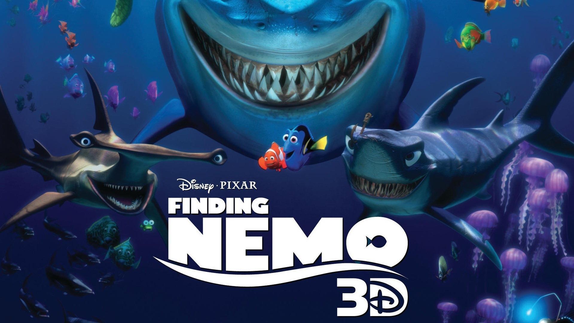 Finding Nemo 3d Movie Hd Desktop Wallpaper 1920x1080 Wallpaper