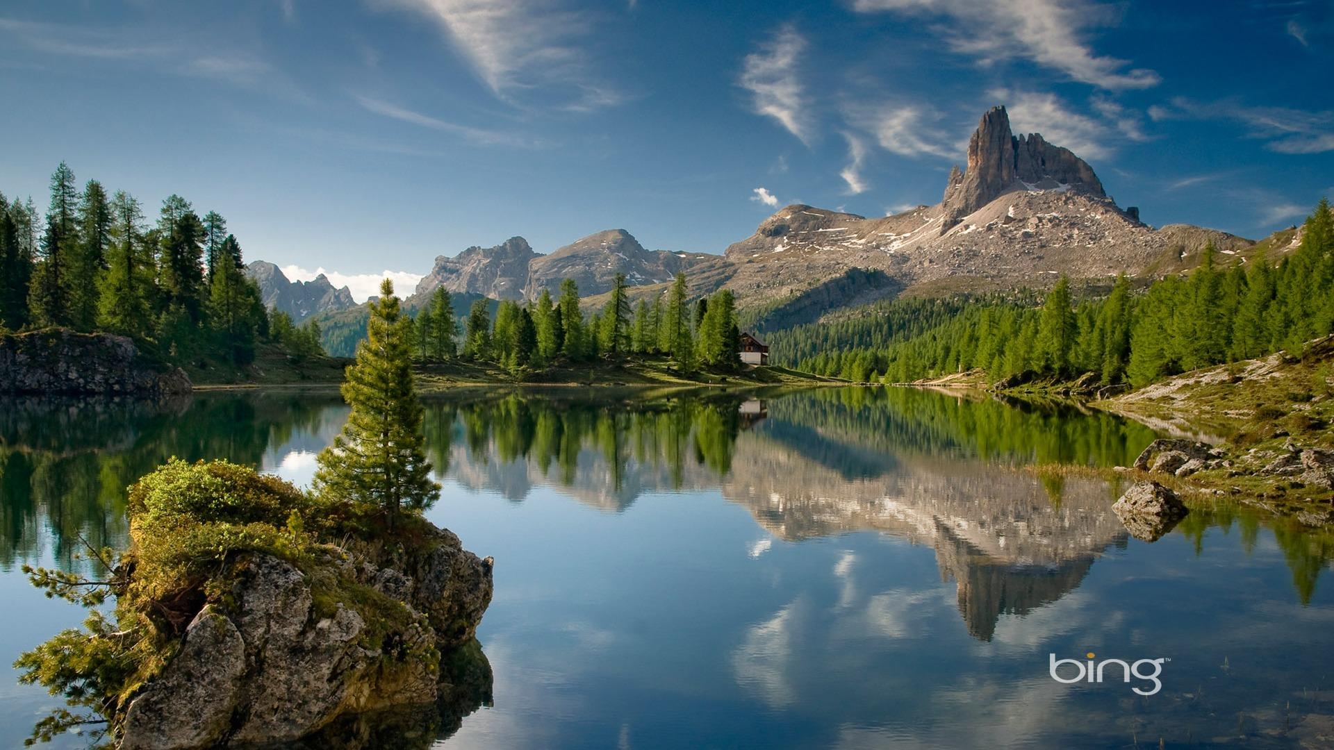 Italienne De Montagne Des Dolomites