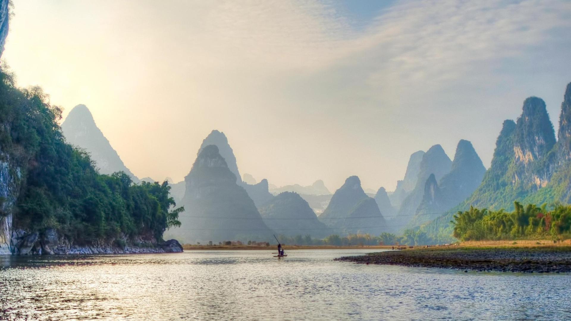 Lijiang_River_Guilin_China-Nature_Landscape_Wallpapers_1920x1080 Lake Landscape Garden Design on permaculture garden design, minnesota lake landscape design, tuscan style garden design,