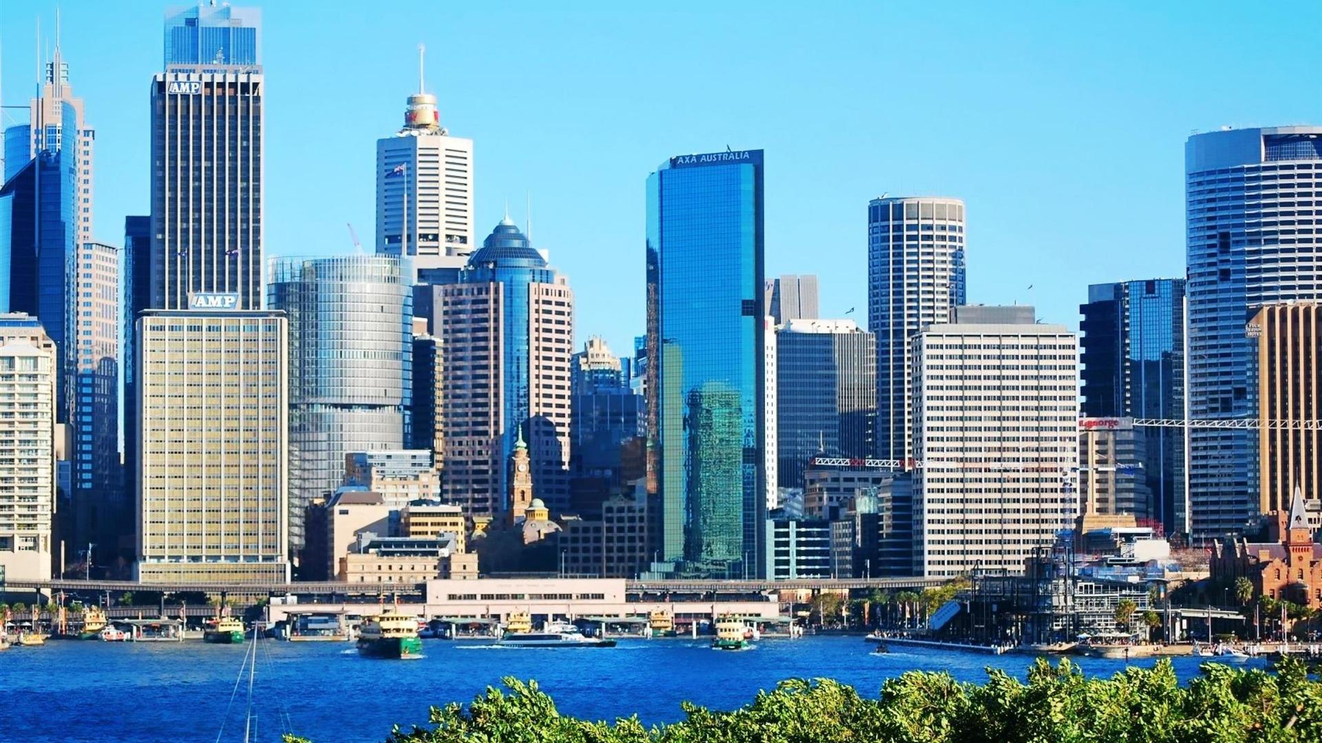 Quartier Central Des Affaires De Sydney Architectural