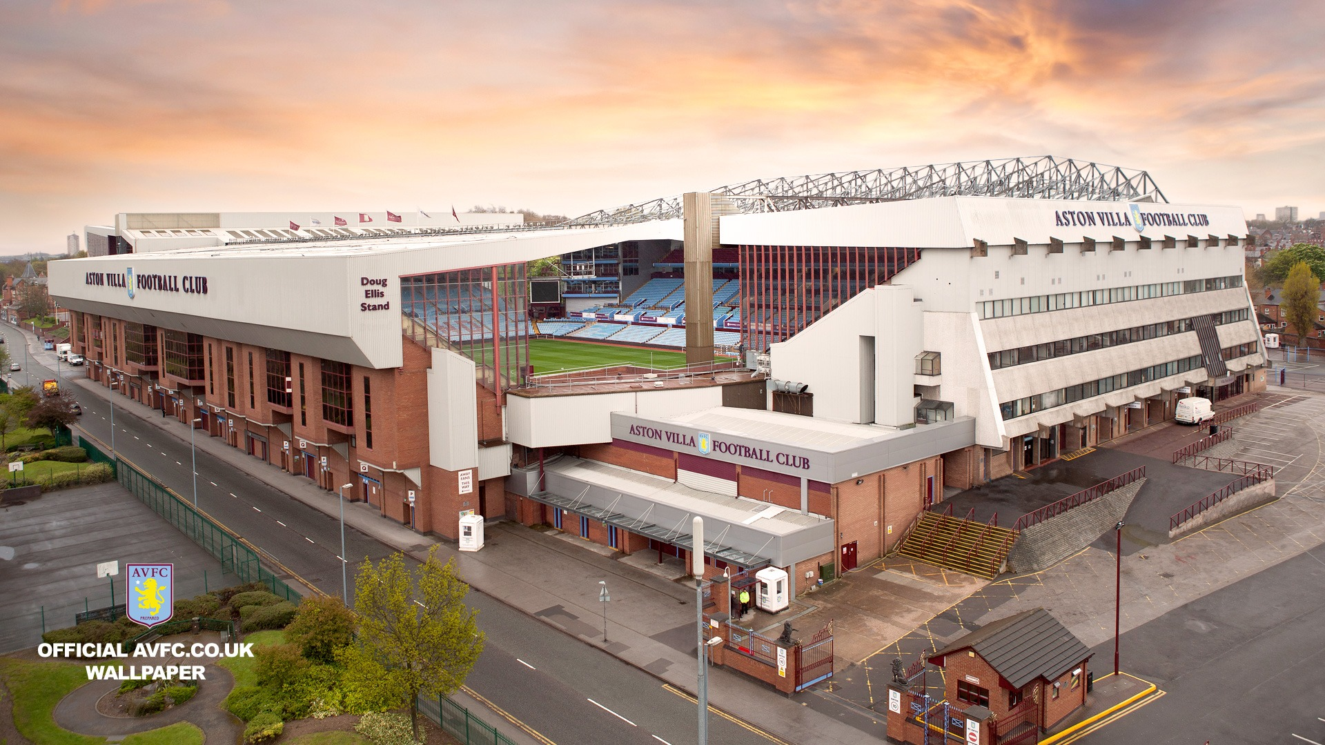 Villa Park From The Air-Aston Villa 2012 Wallpaper