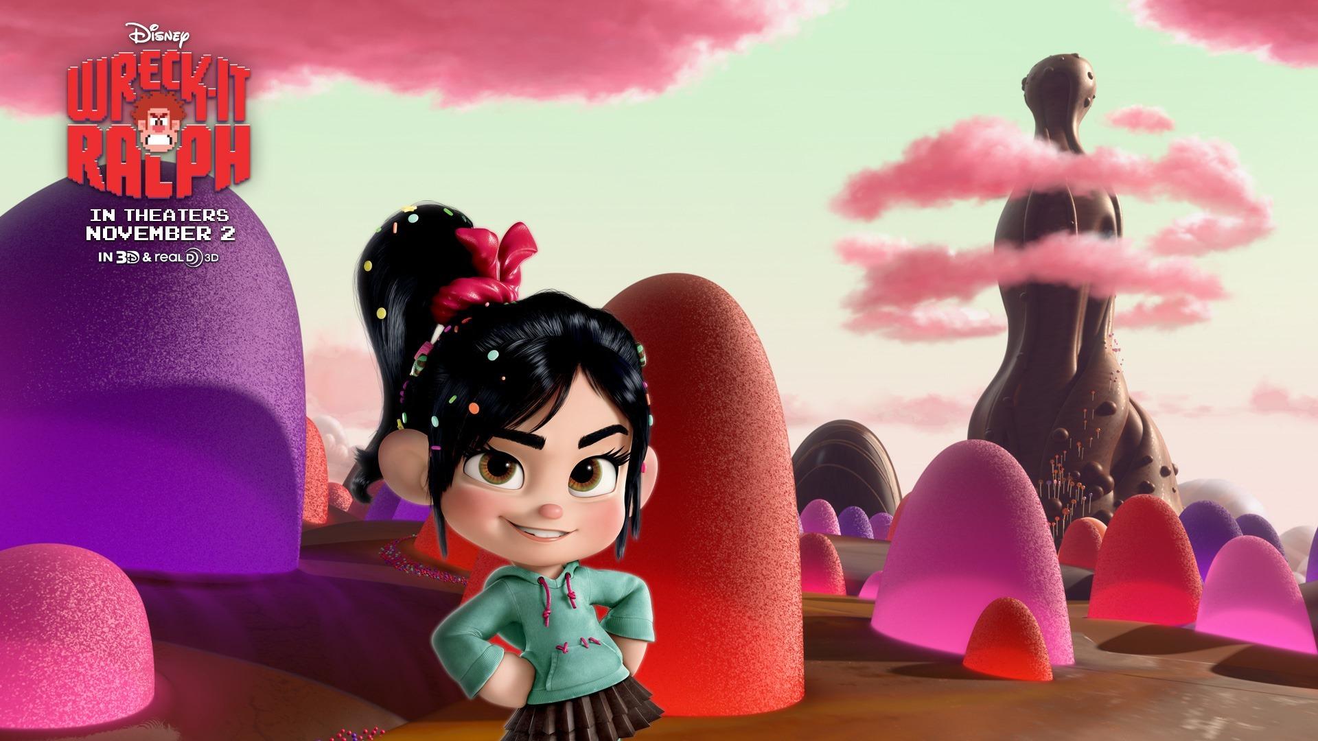 Wreck It Ralph Animation Movie 4k Hd Desktop Wallpaper For: Wreck-It Ralph Movie HD Desktop Wallpapers 19-1920x1080