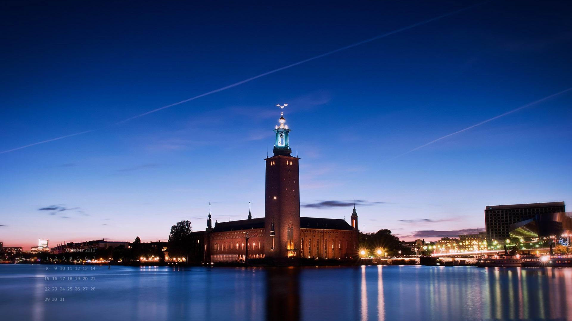 Stockholm Sweden Landscape Photography Hd Wallpaper
