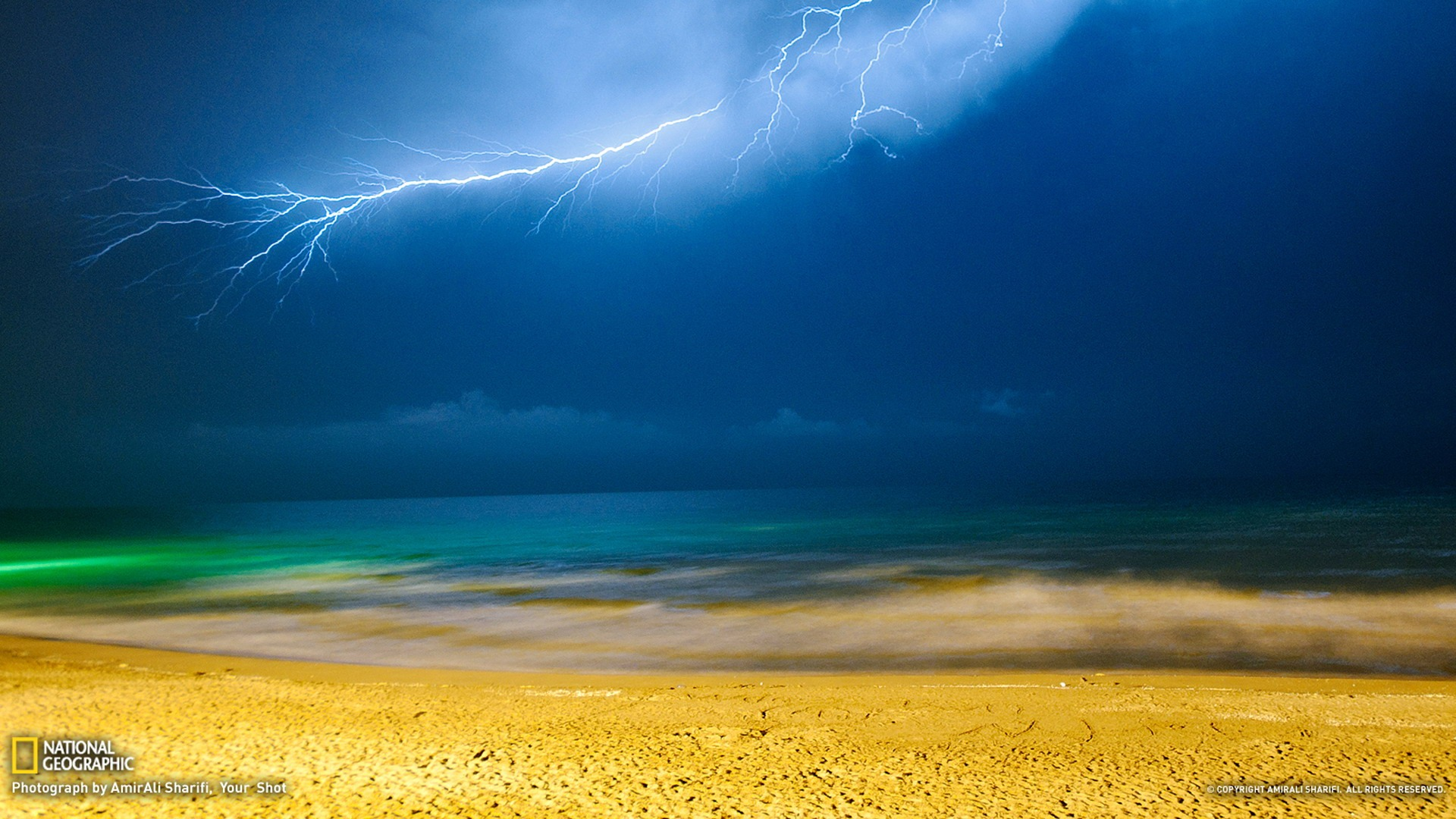 Lightning Iran National Geographic Best Wallpapers Of 2012