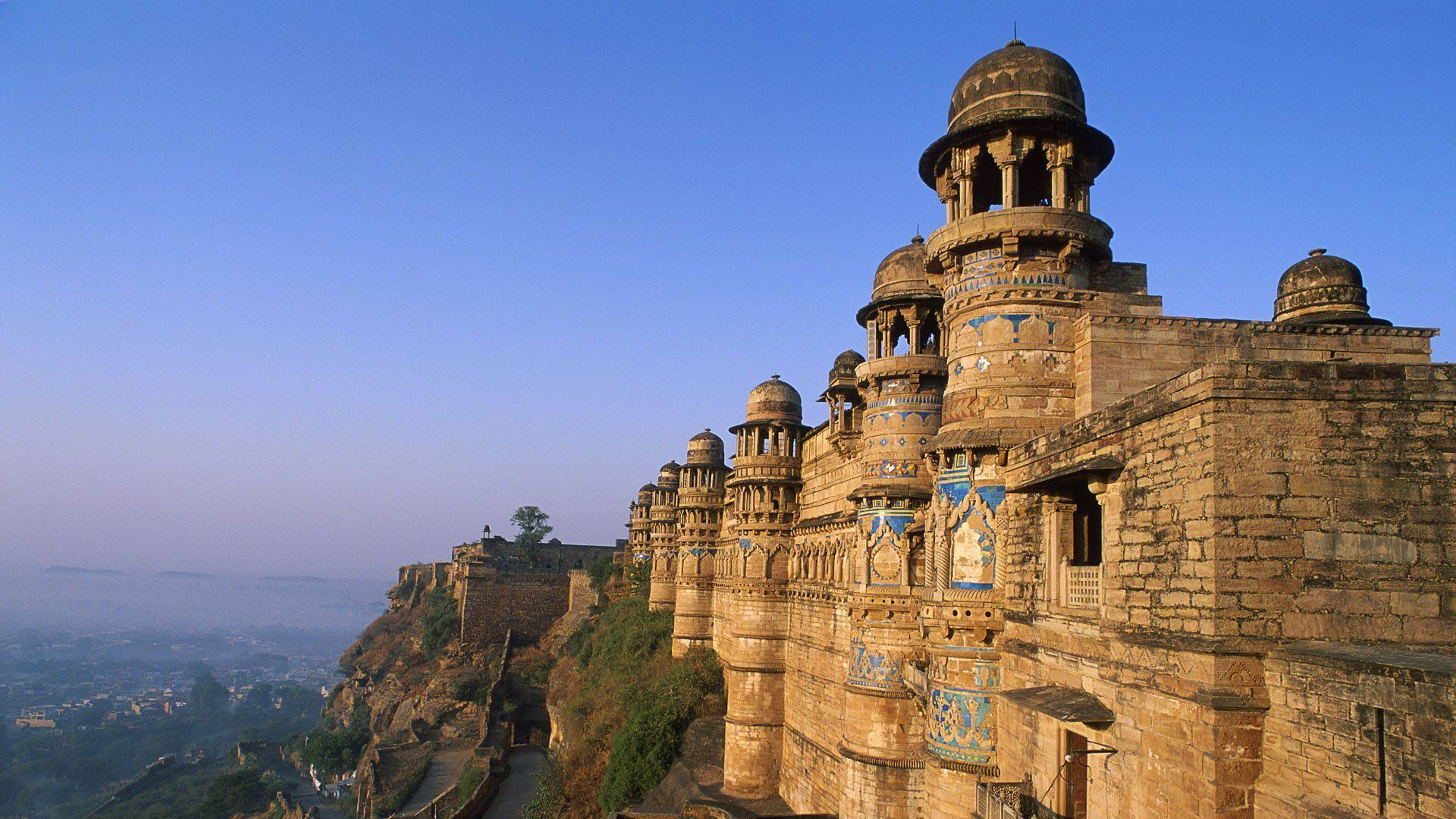 Gwalior Fort India-City Travel Photography Wallpaper
